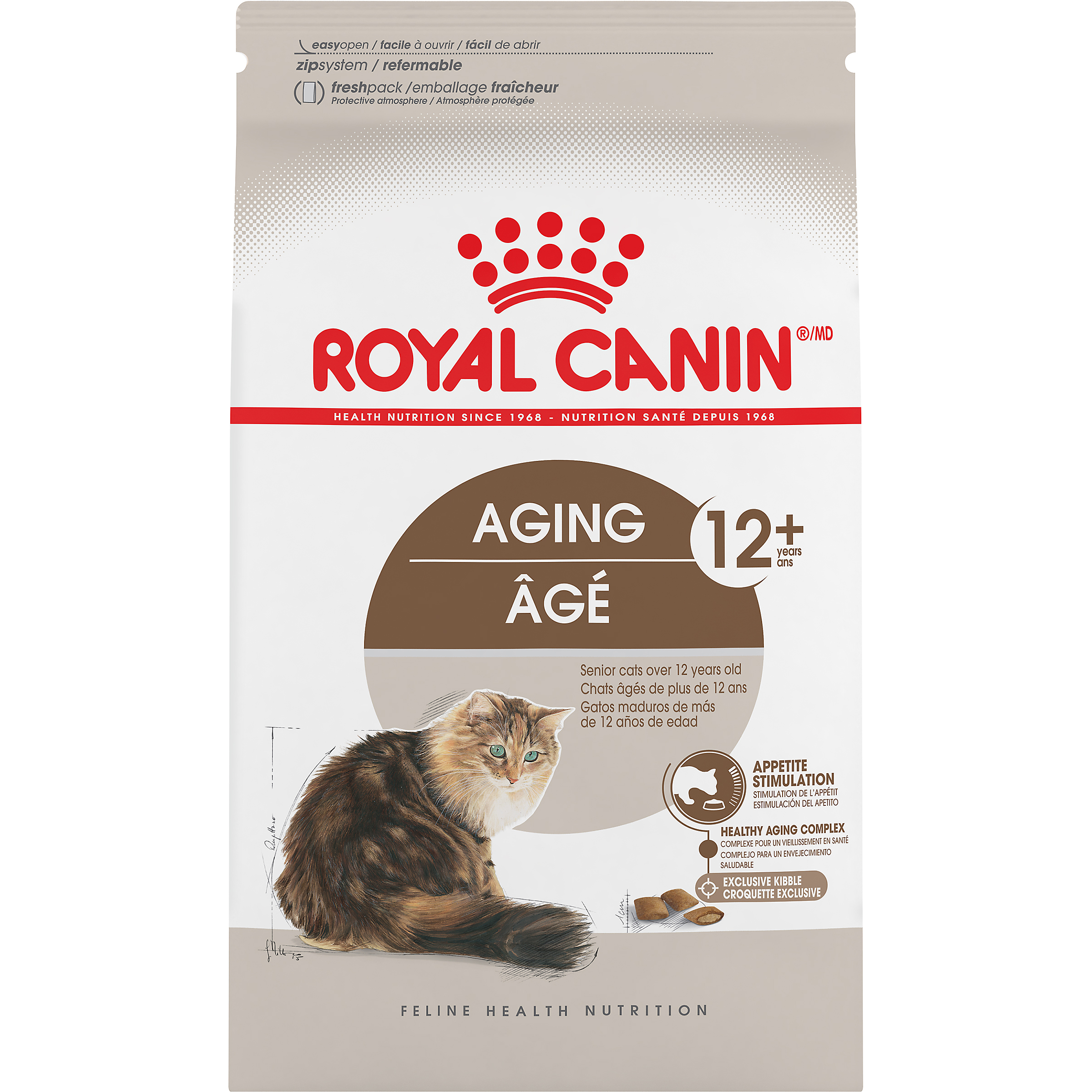 Aging 12+ Dry Adult Cat Food - Royal Canin