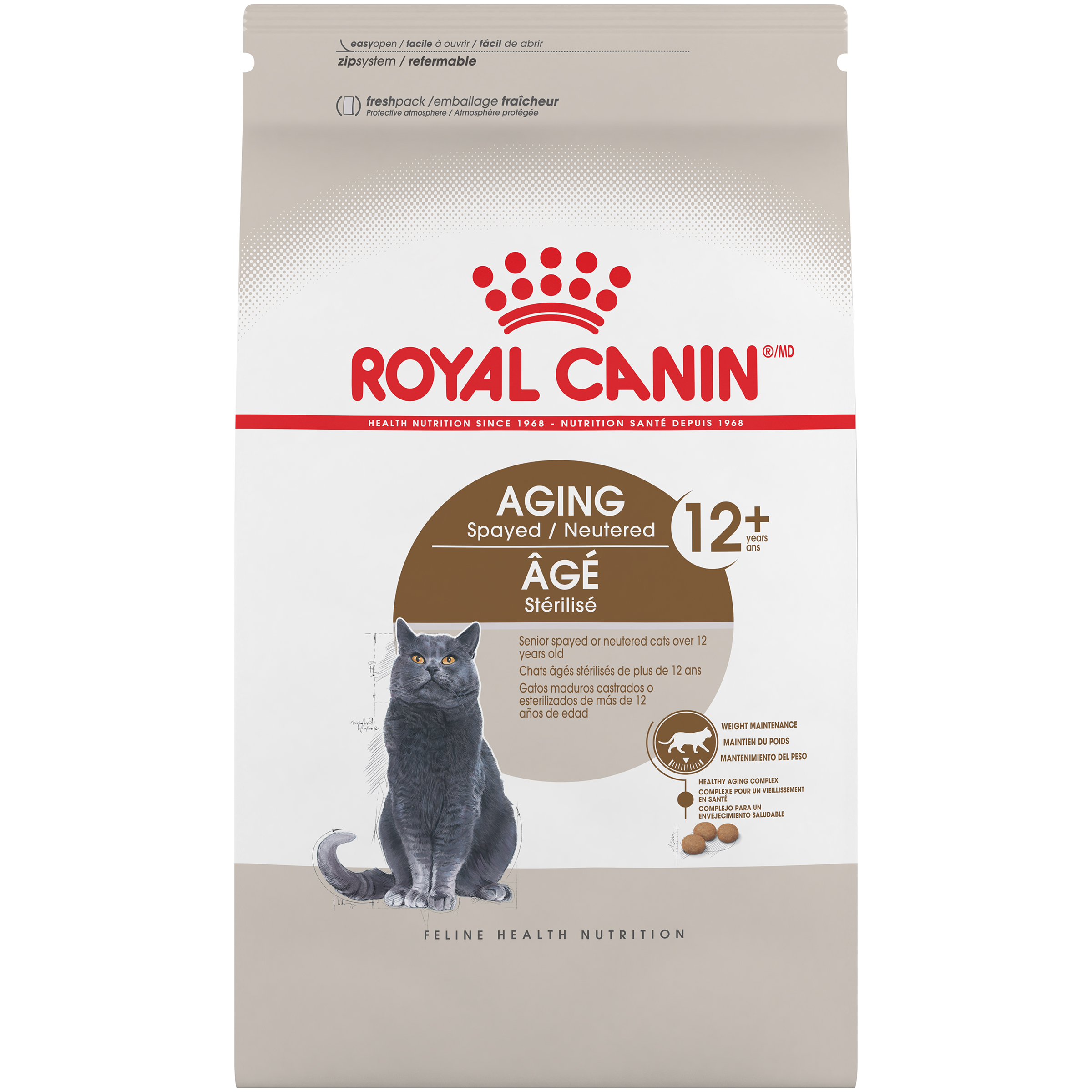 Aging Spayed / Neutered 12+ Dry Adult Cat Food
