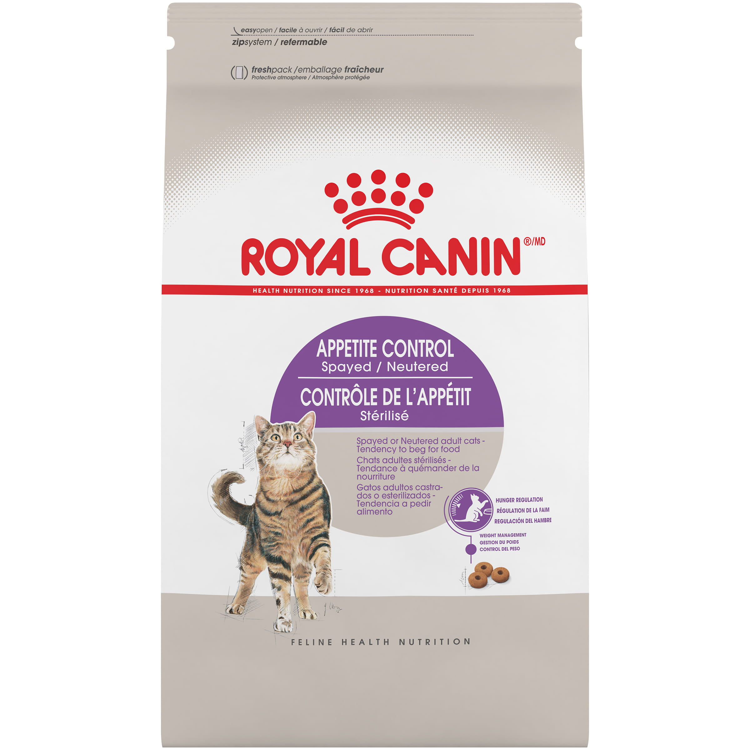 Royal Canin Feline Health Nutrition Appetite Control Spayed / Neutered Dry Adult Cat Food