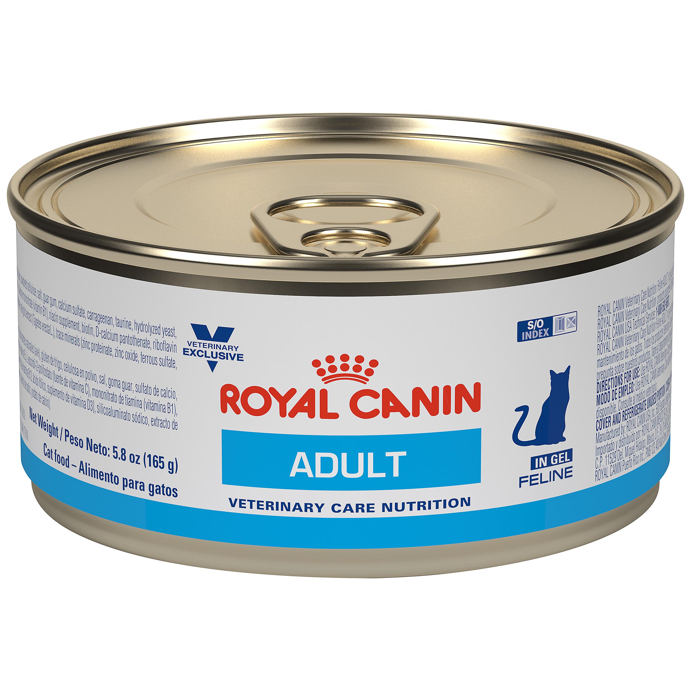 Royal Canin Veterinary Diet Feline Adult In Gel Canned Cat Food