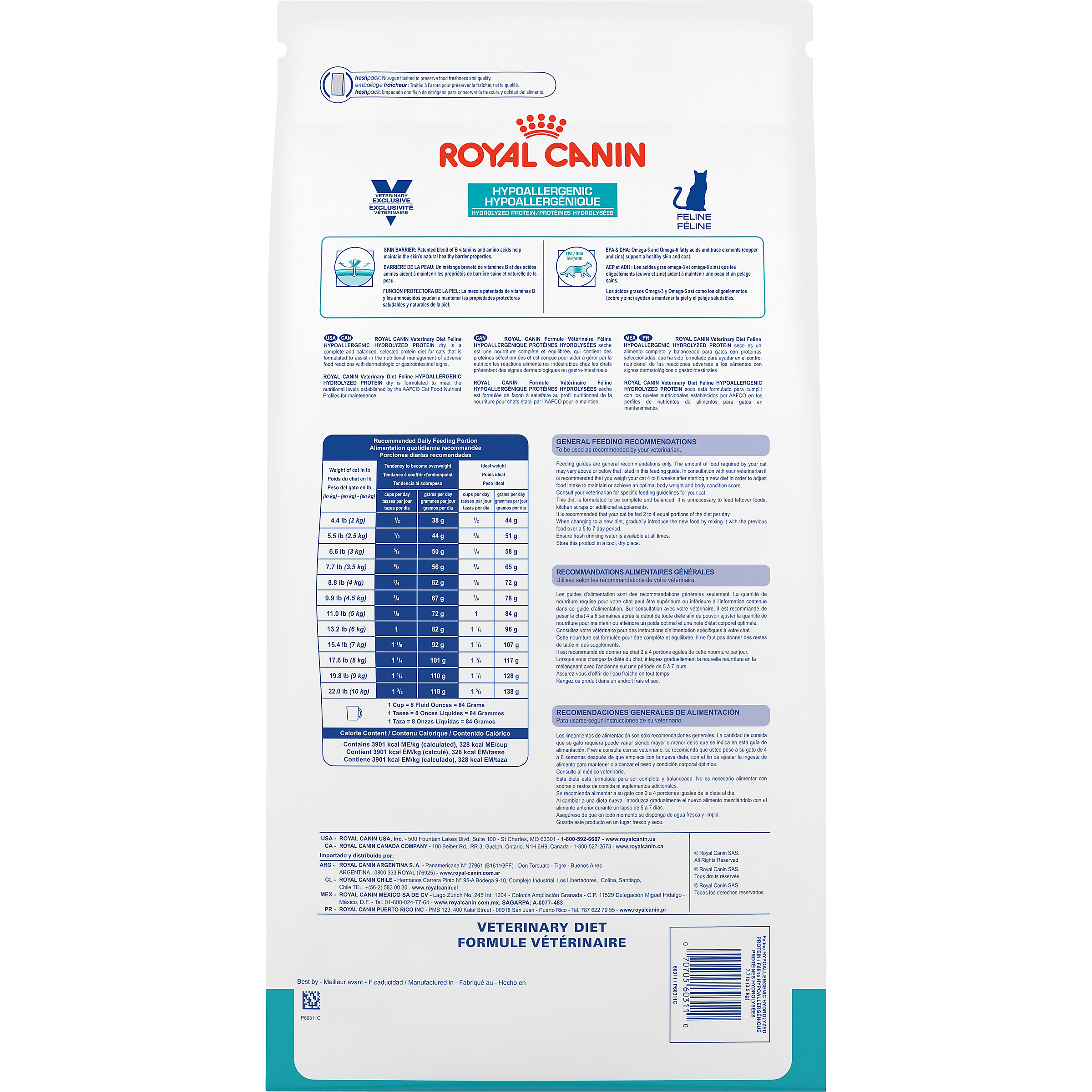 Royal Canin Veterinary Diet Feline Hypoallergenic Hydrolyzed Protein Dry Cat Food