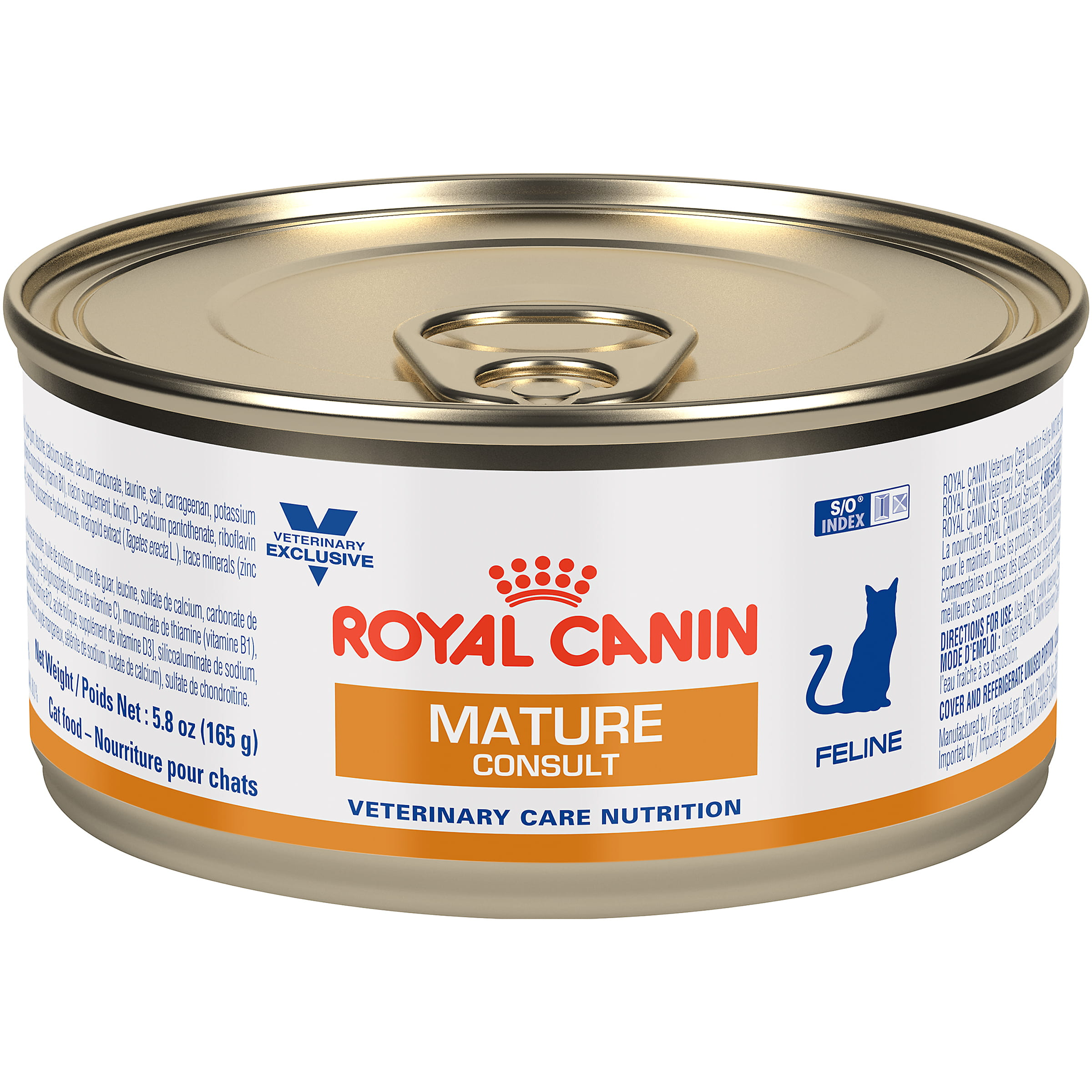 Royal Canin Veterinary Diet Feline Mature Consult Canned Cat Food