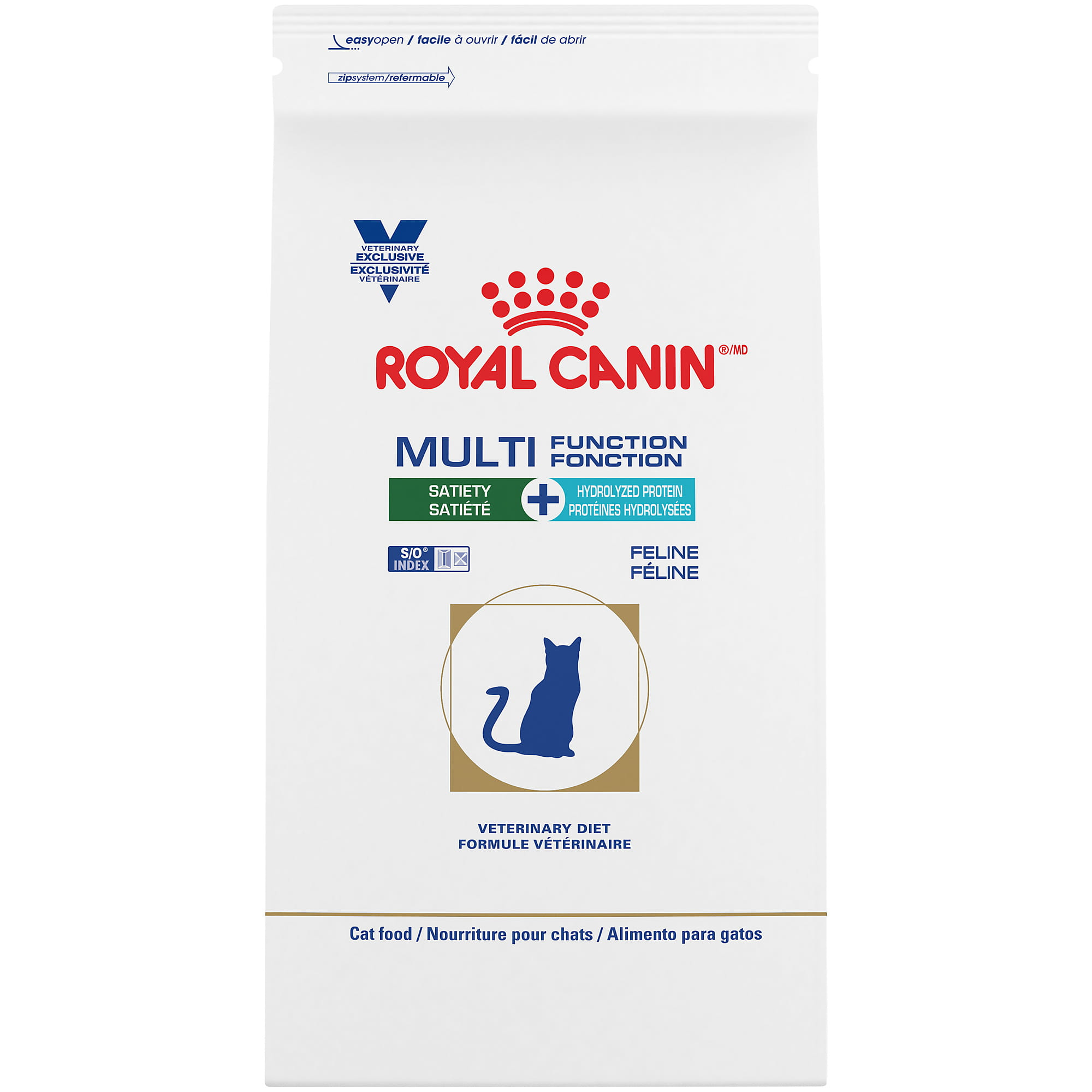 Royal Canin Veterinary Diet Feline Multifunction Satiety + Hydrolyzed Protein Dry Cat Food