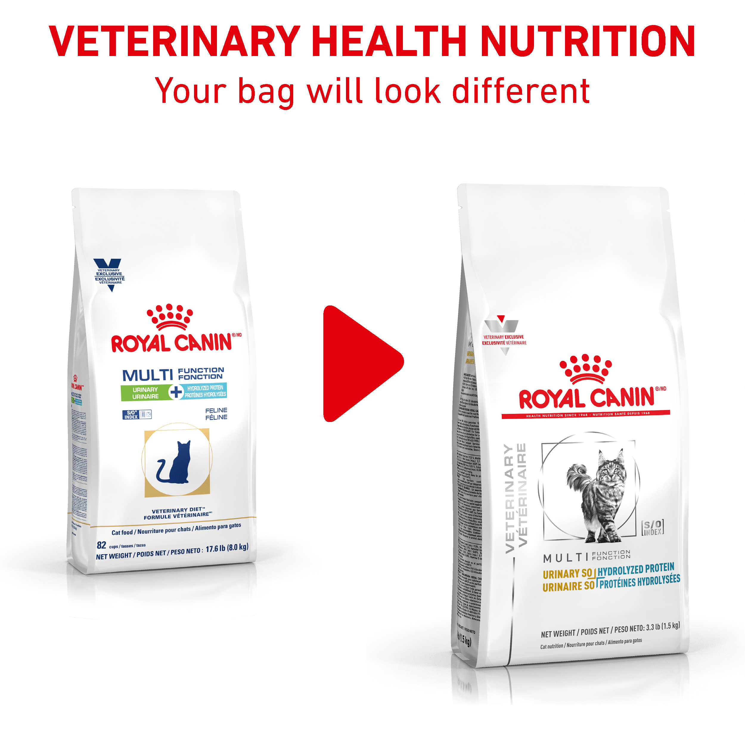 Royal Canin Veterinary Diet Feline Urinary SO + Hydrolyzed Protein Dry Cat Food