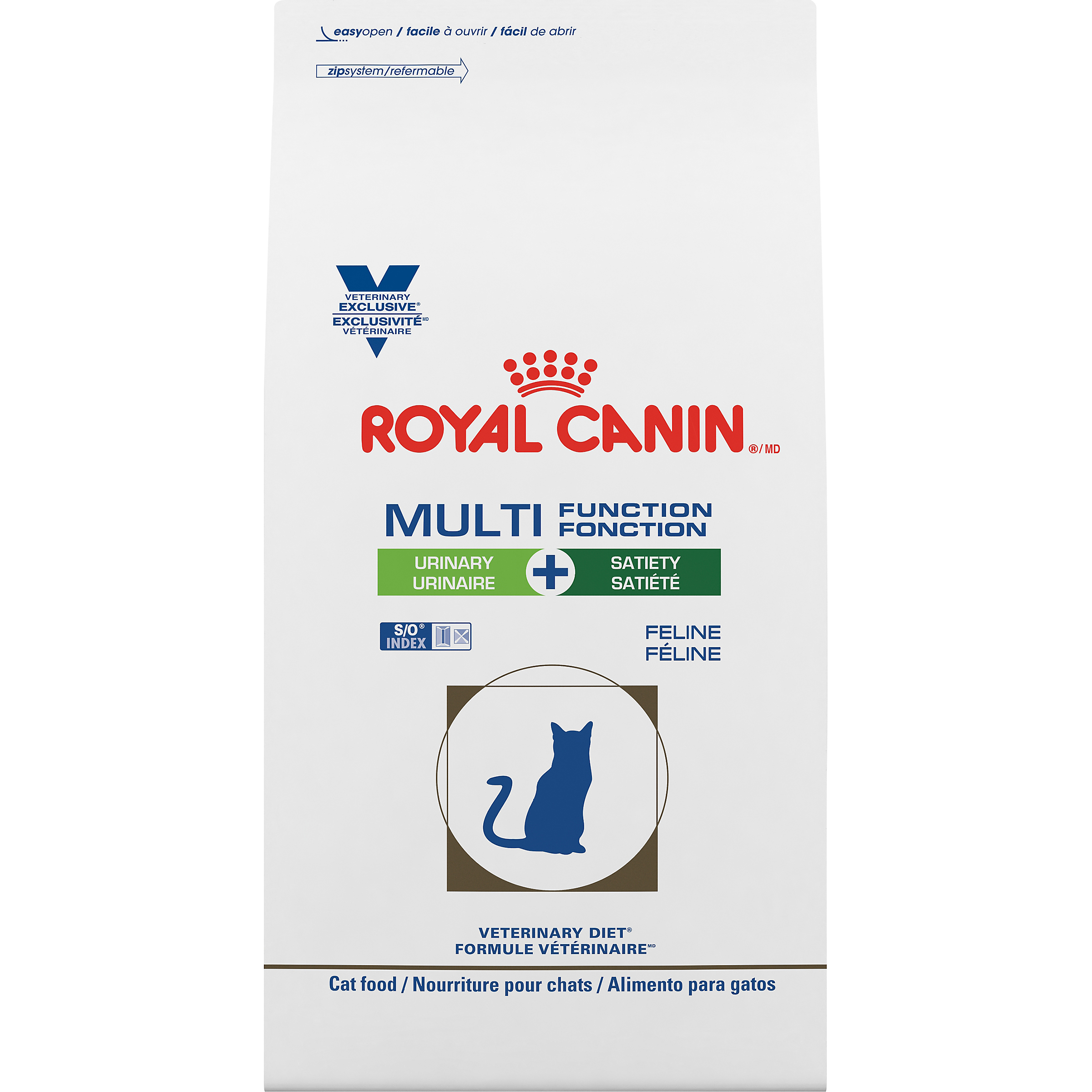 Royal Canin Veterinary Diet Feline Multifunction Urinary + Satiety Dry Cat Food