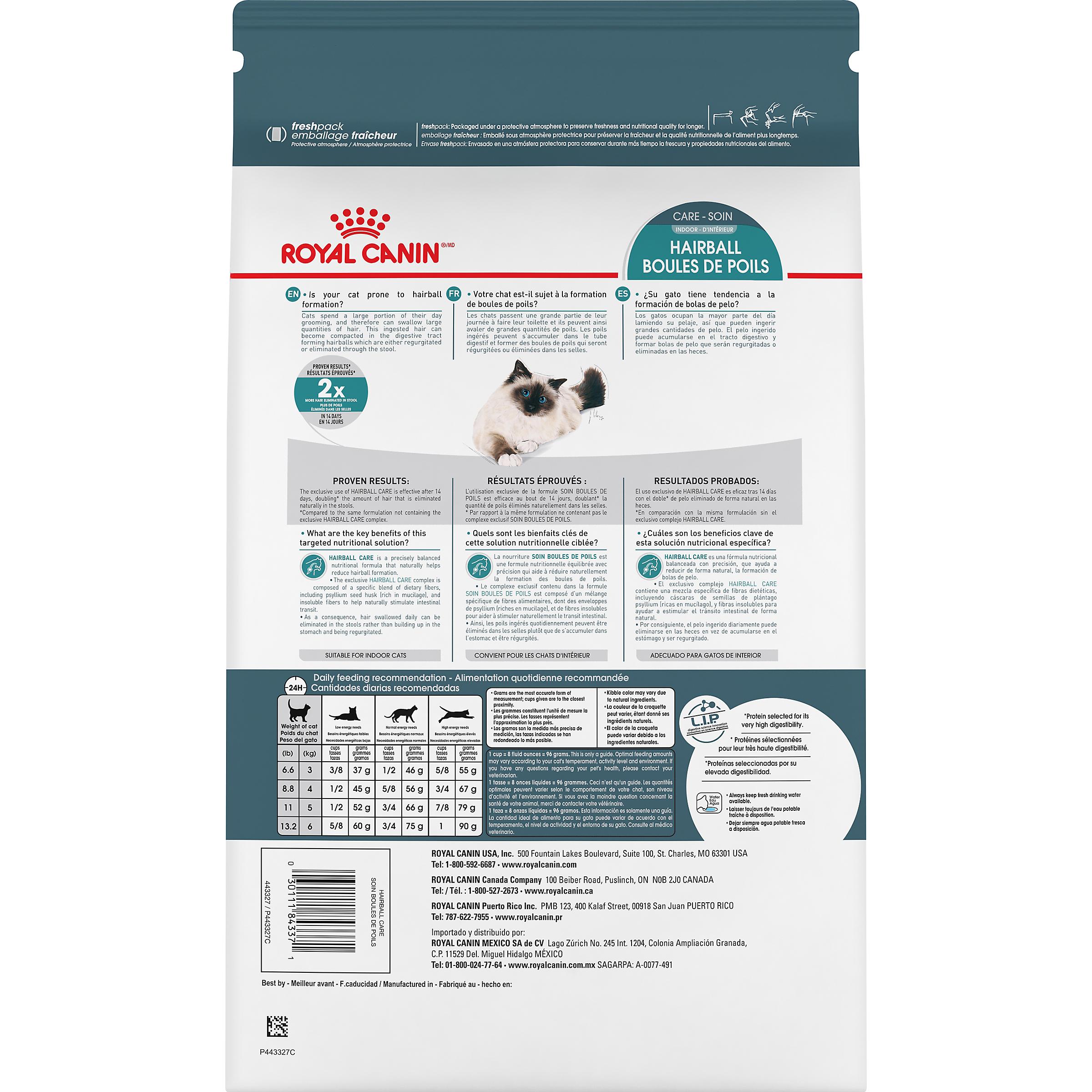 Royal Canin Feline Care Nutrition Hairball Care Dry Cat Food