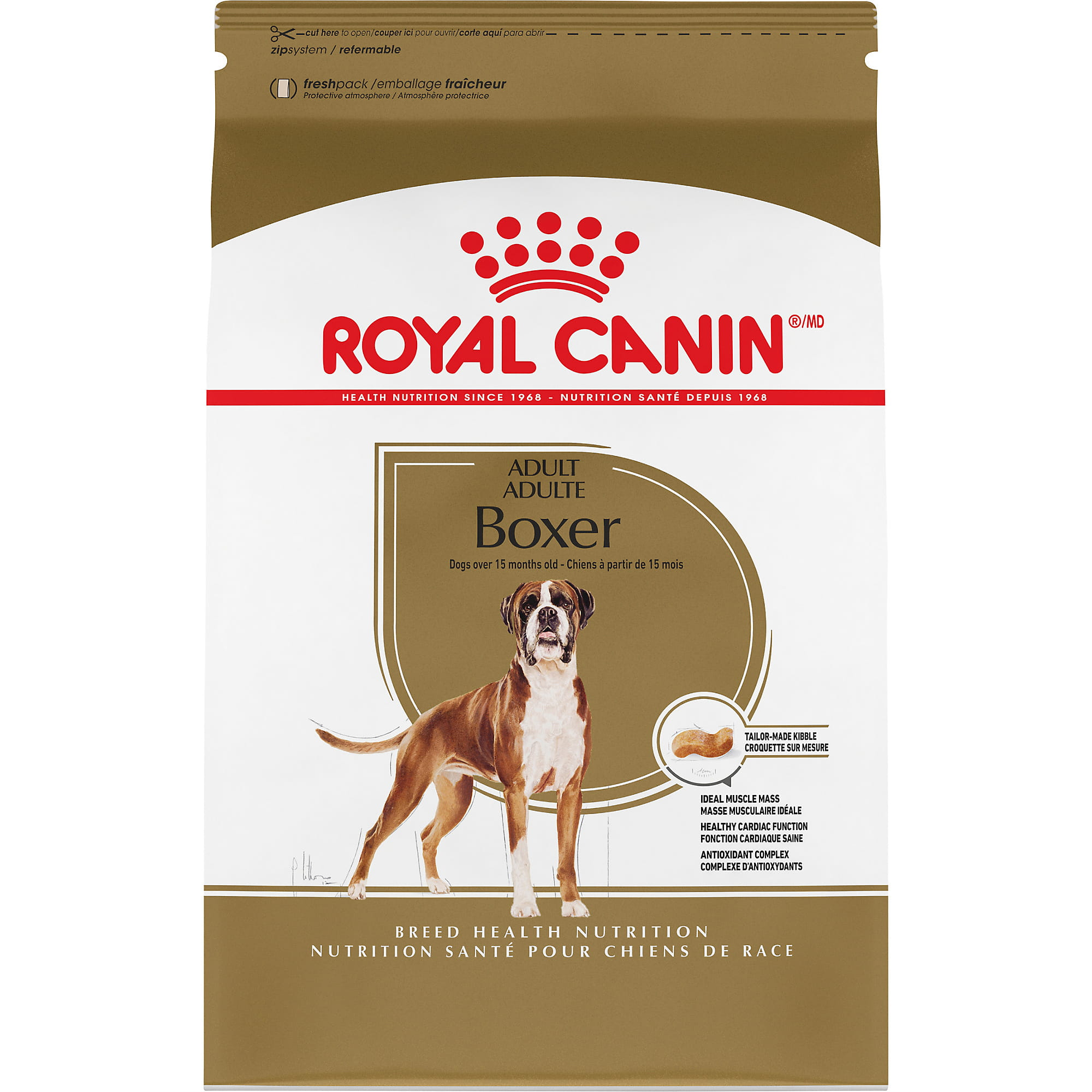 Boxer Adult Dry Dog Food