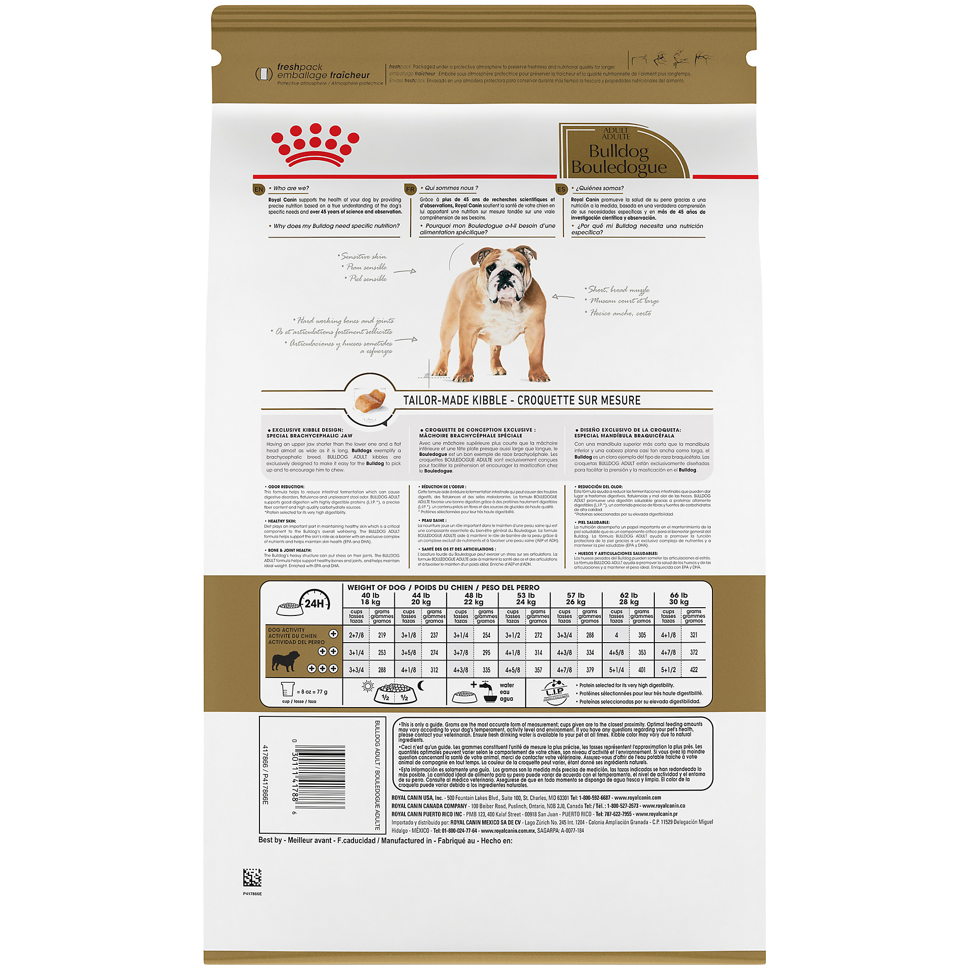 Bulldog Adult Dry Dog Food