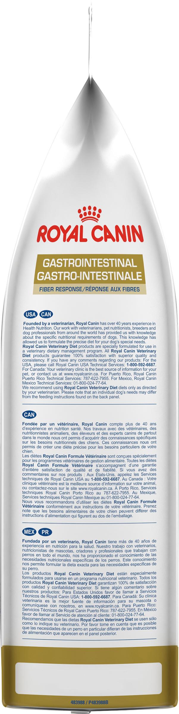 Canine Gastrointestinal Fiber Response Dry Dog Food