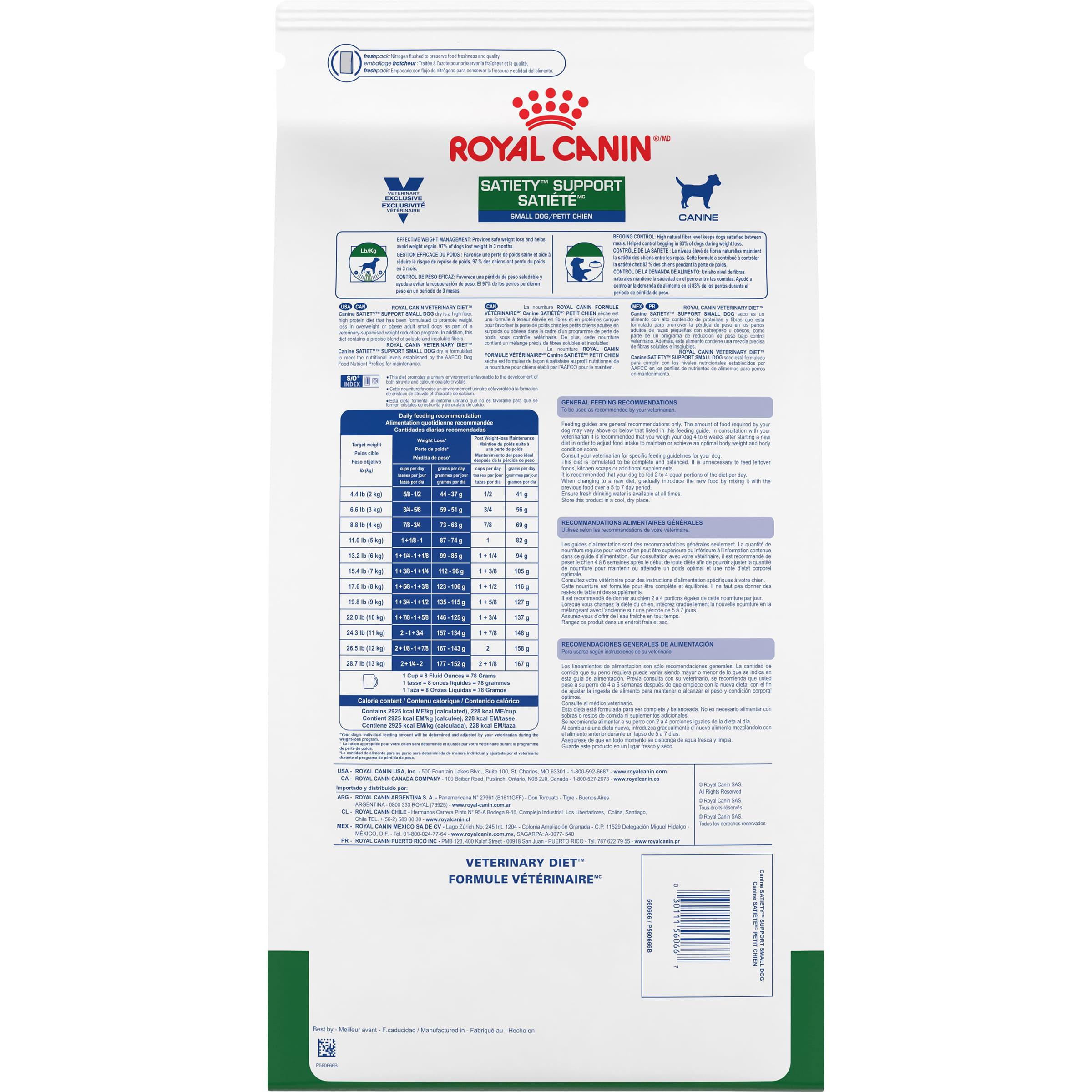 Canine Satiety® Support Small Dog Dry Dog Food