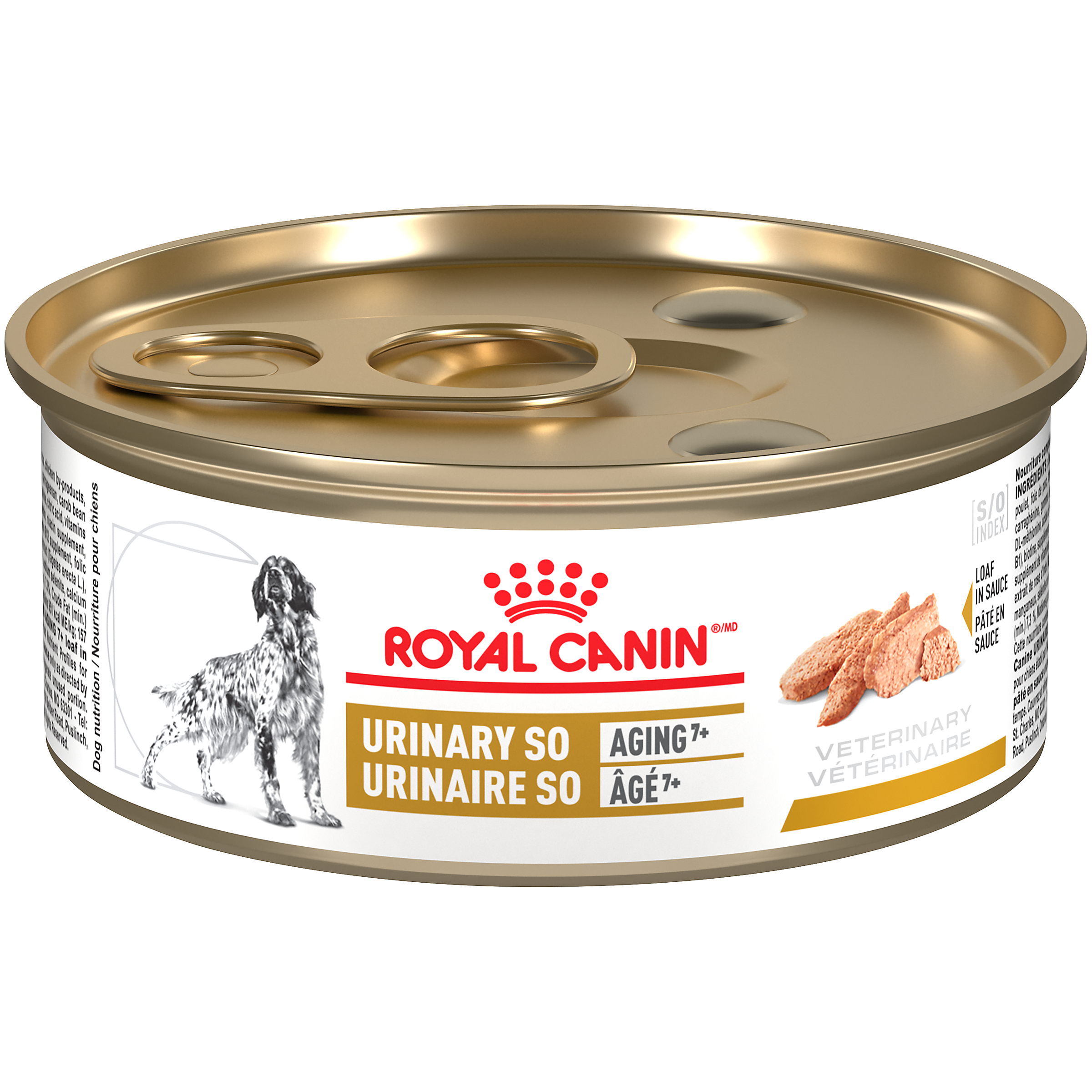 Royal Canin Veterinary Diet Canine Urinary SO Aging 7+ Canned Dog Food
