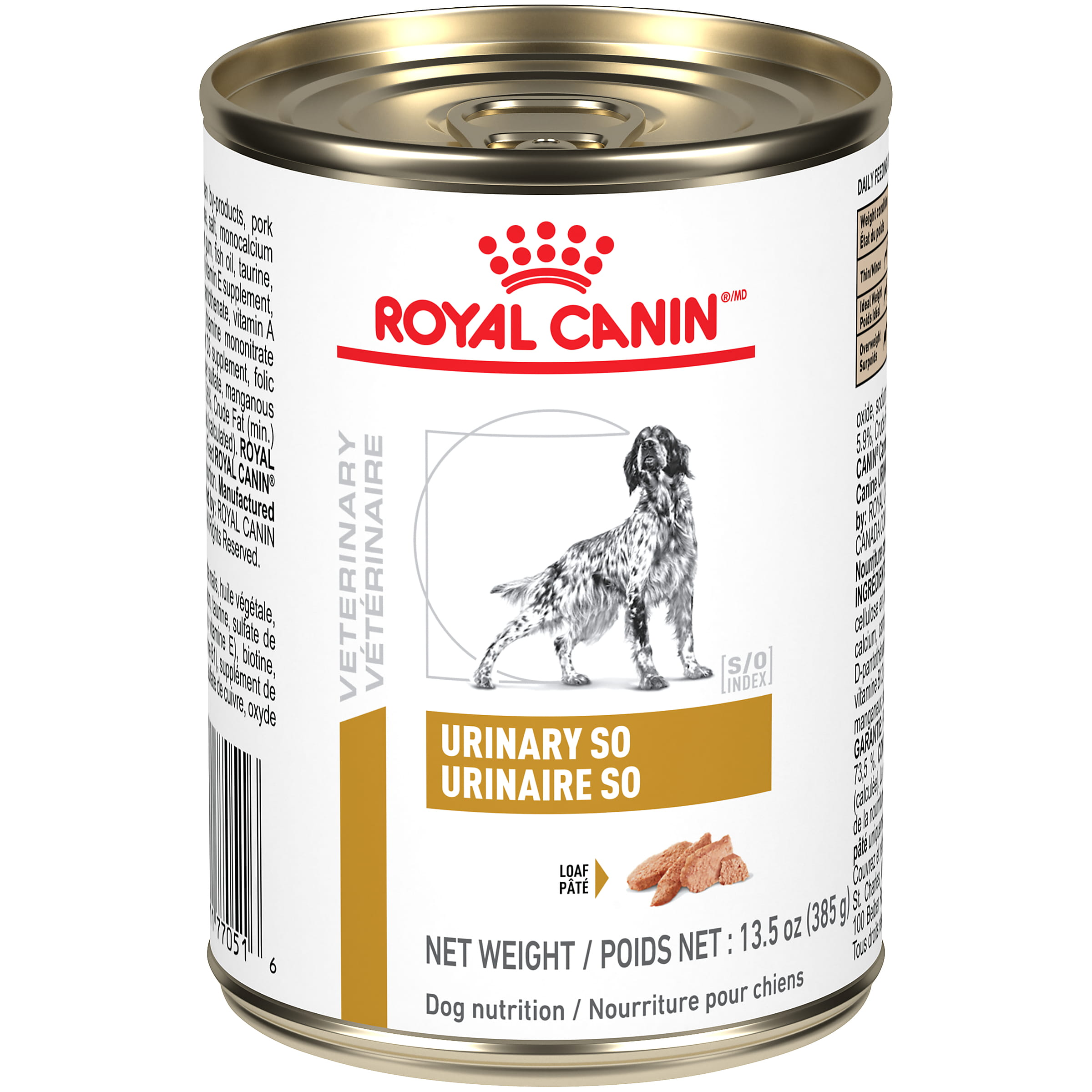 Royal Canin Veterinary Diet Canine Urinary SO In Gel Canned Dog Food