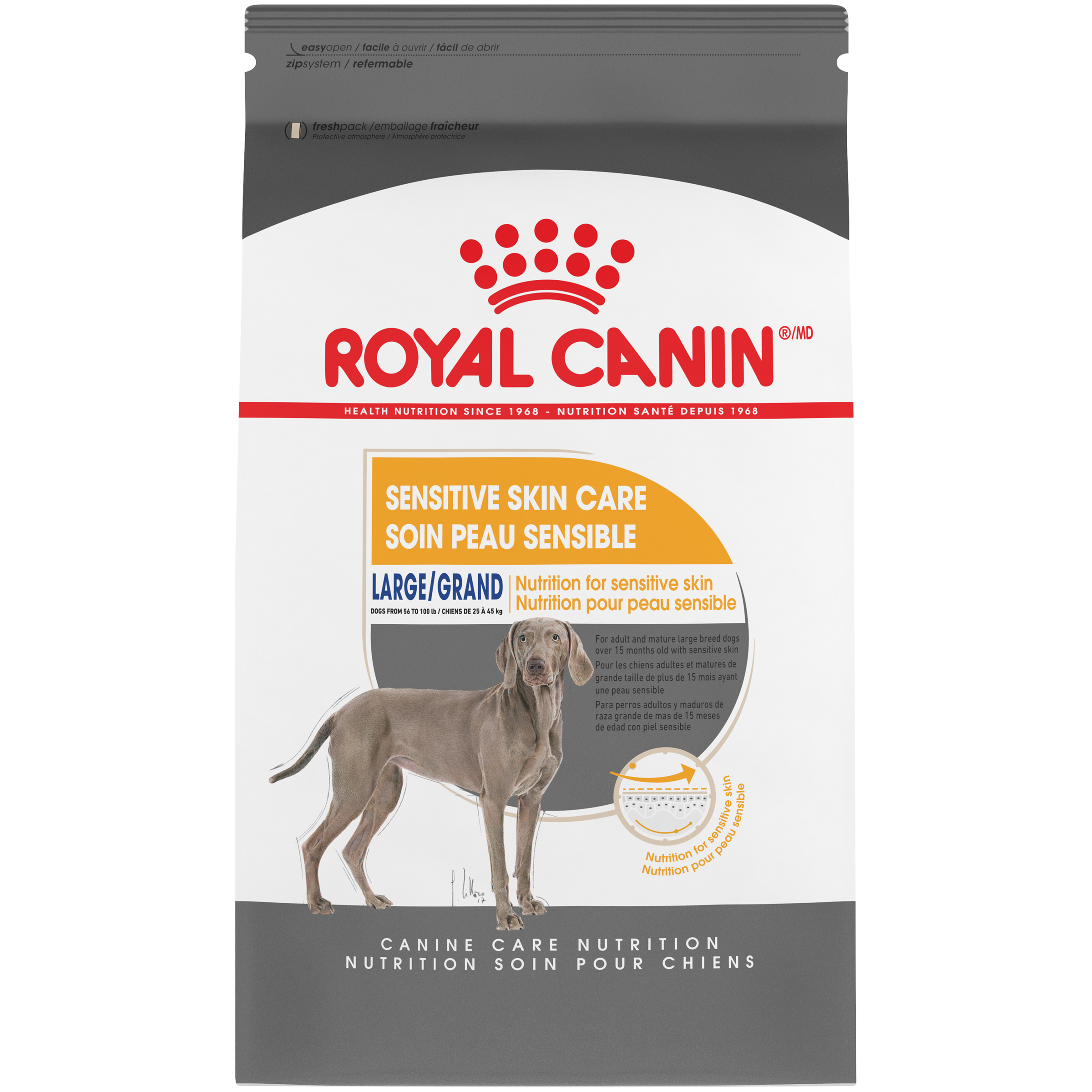 Royal Canin Canine Care Nutrition Large Sensitive Skin Dry Dog Food