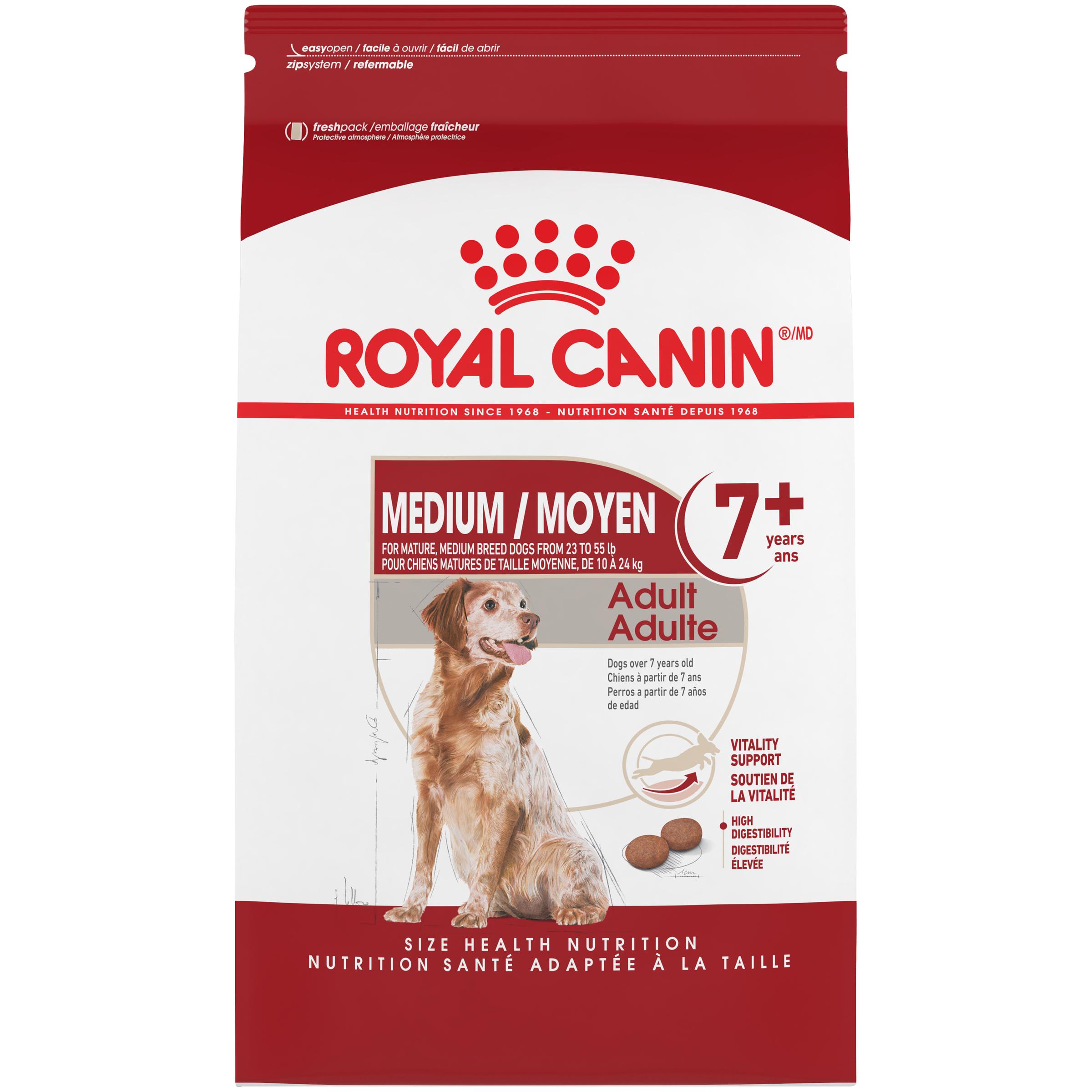 Royal Canin Size Health Nutrition Medium Adult 7+ Dry Dog Food