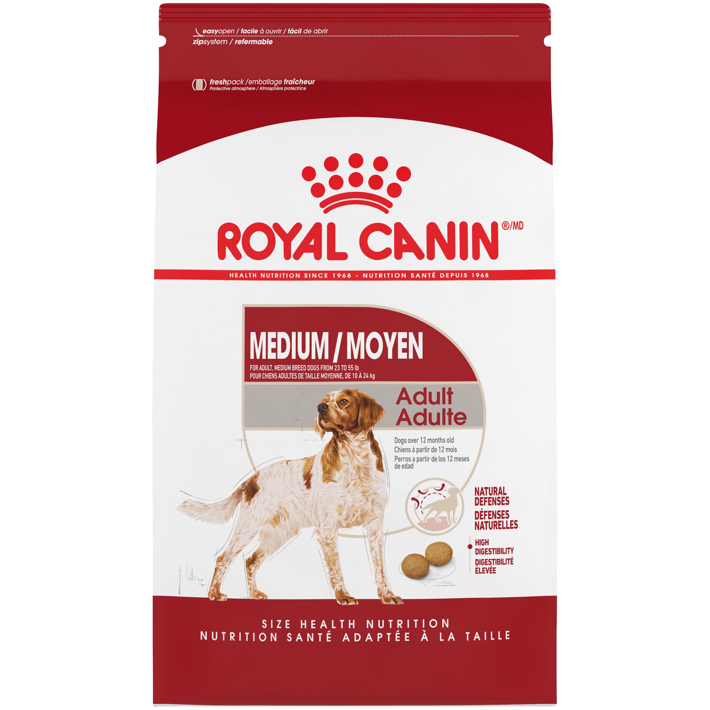 Royal Canin Size Health Nutrition Medium Adult Dry Dog Food