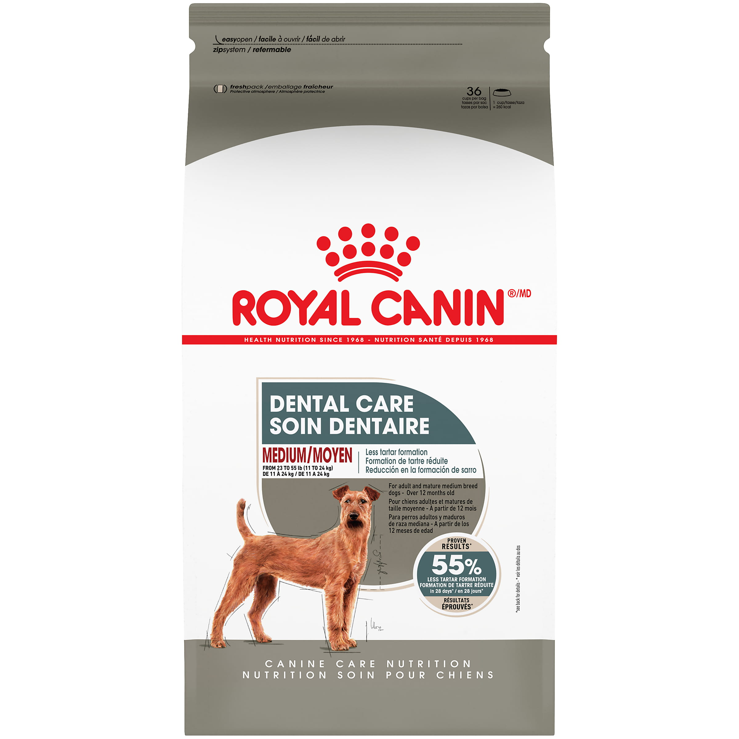 Royal Canin Canine Care Nutrition Medium Dental Care Dry Dog Food