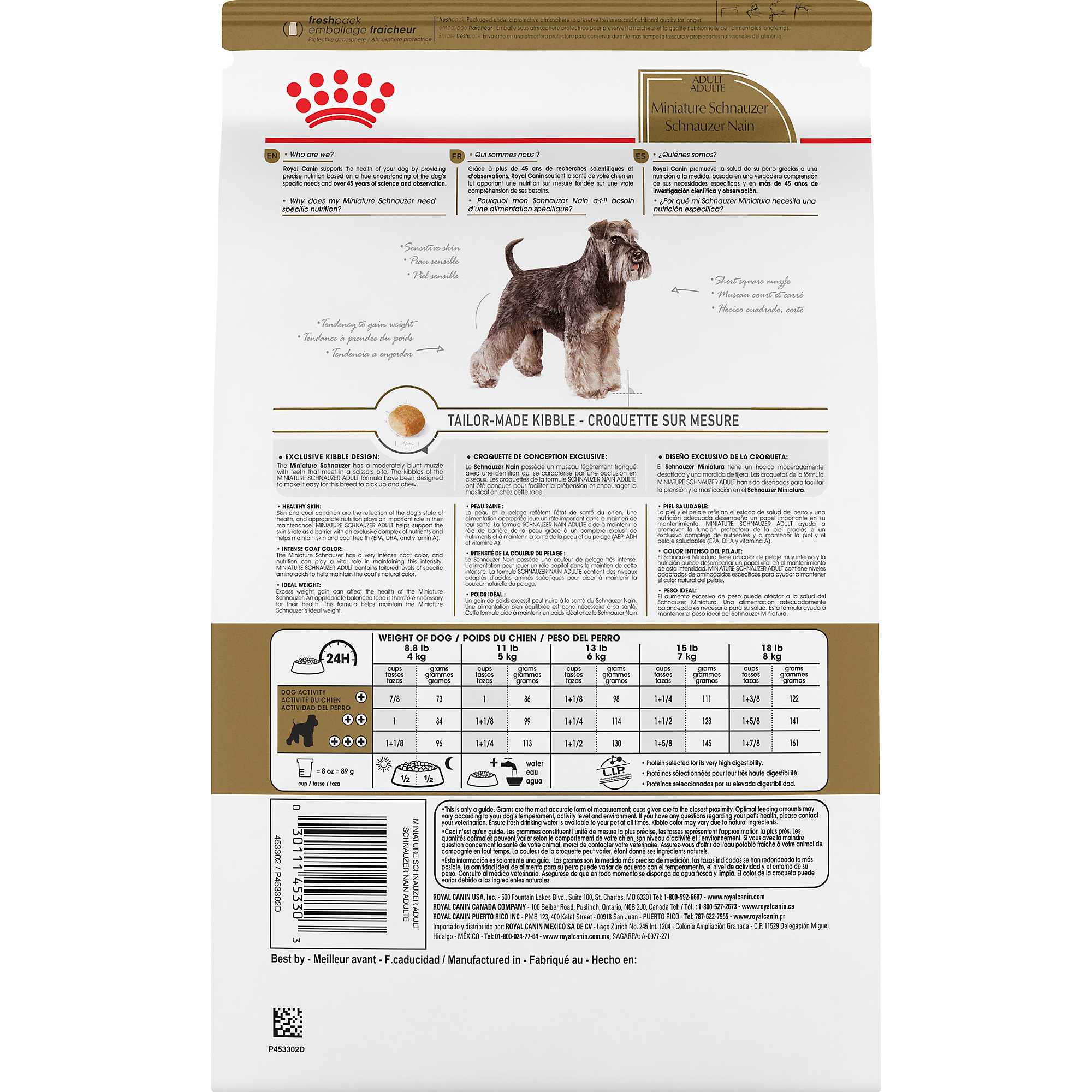 Miniature Schnauzer Adult Dry Dog Food - Royal Canin