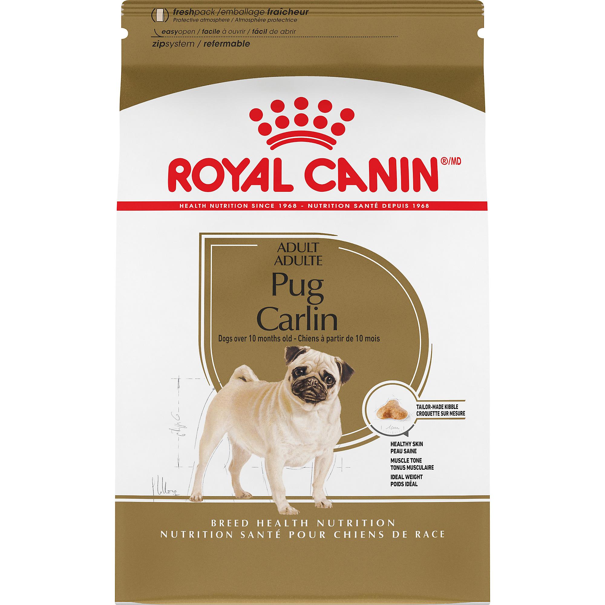 Pug Adult Dry Dog Food