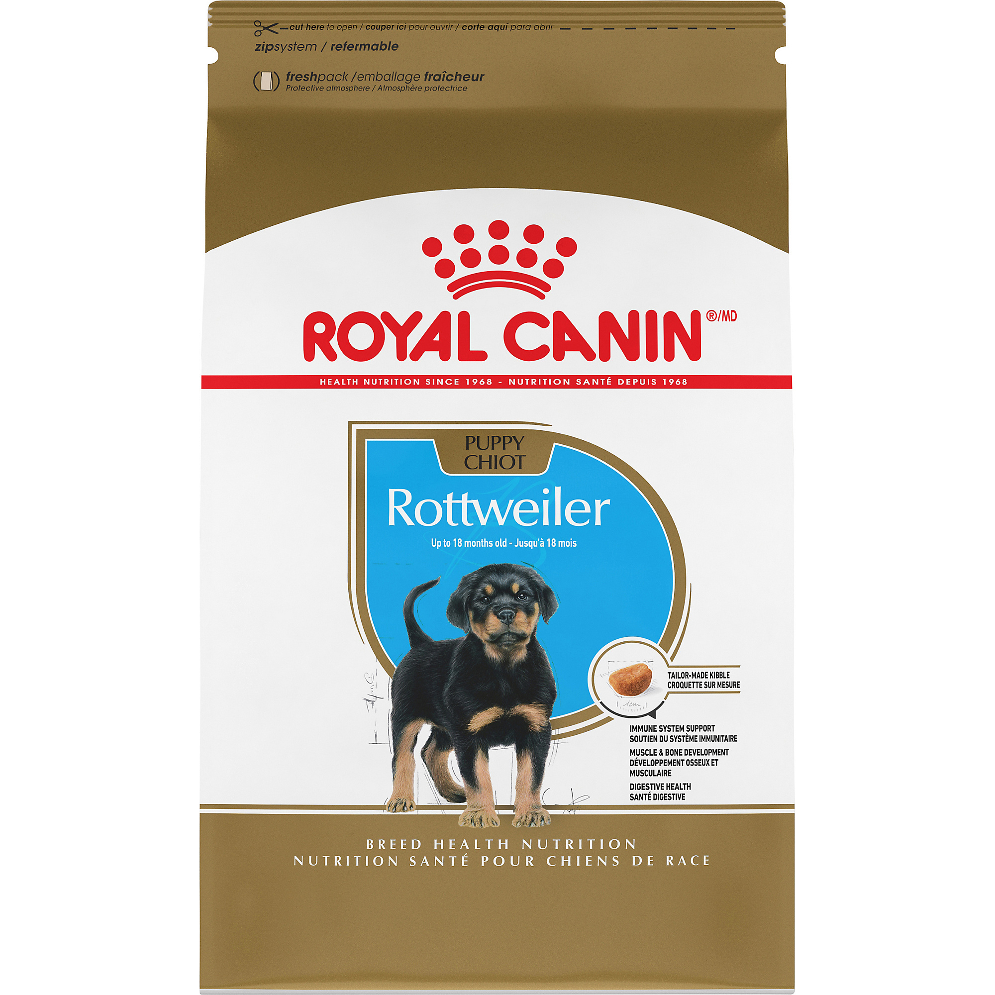 Rottweiler Puppy Dry Dog Food
