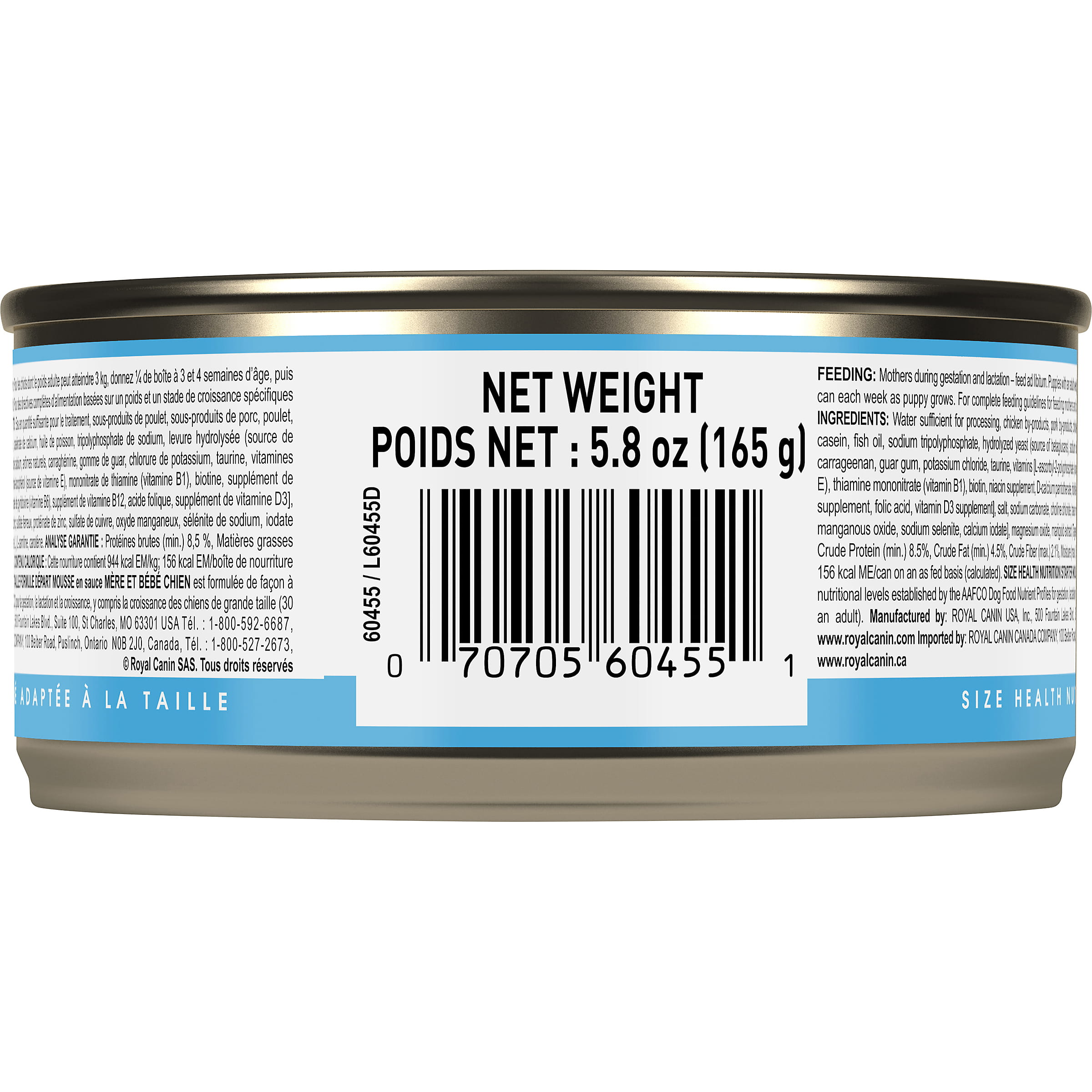Royal Canin Canine Health Nutrition Starter Mousse Canned Dog Food