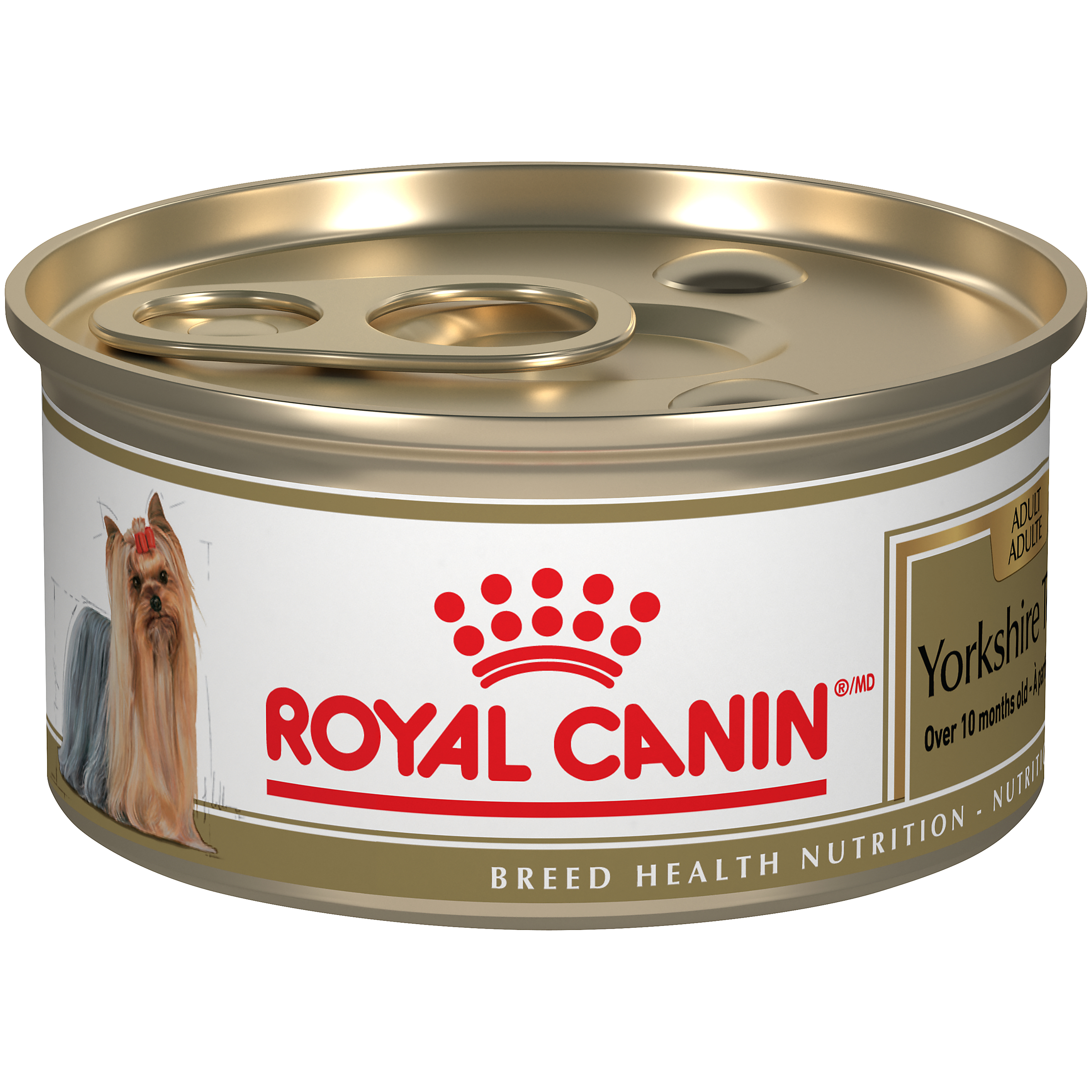 Royal Canin Breed Health Nutrition Yorkshire Terrier Loaf In Sauce Dog Food