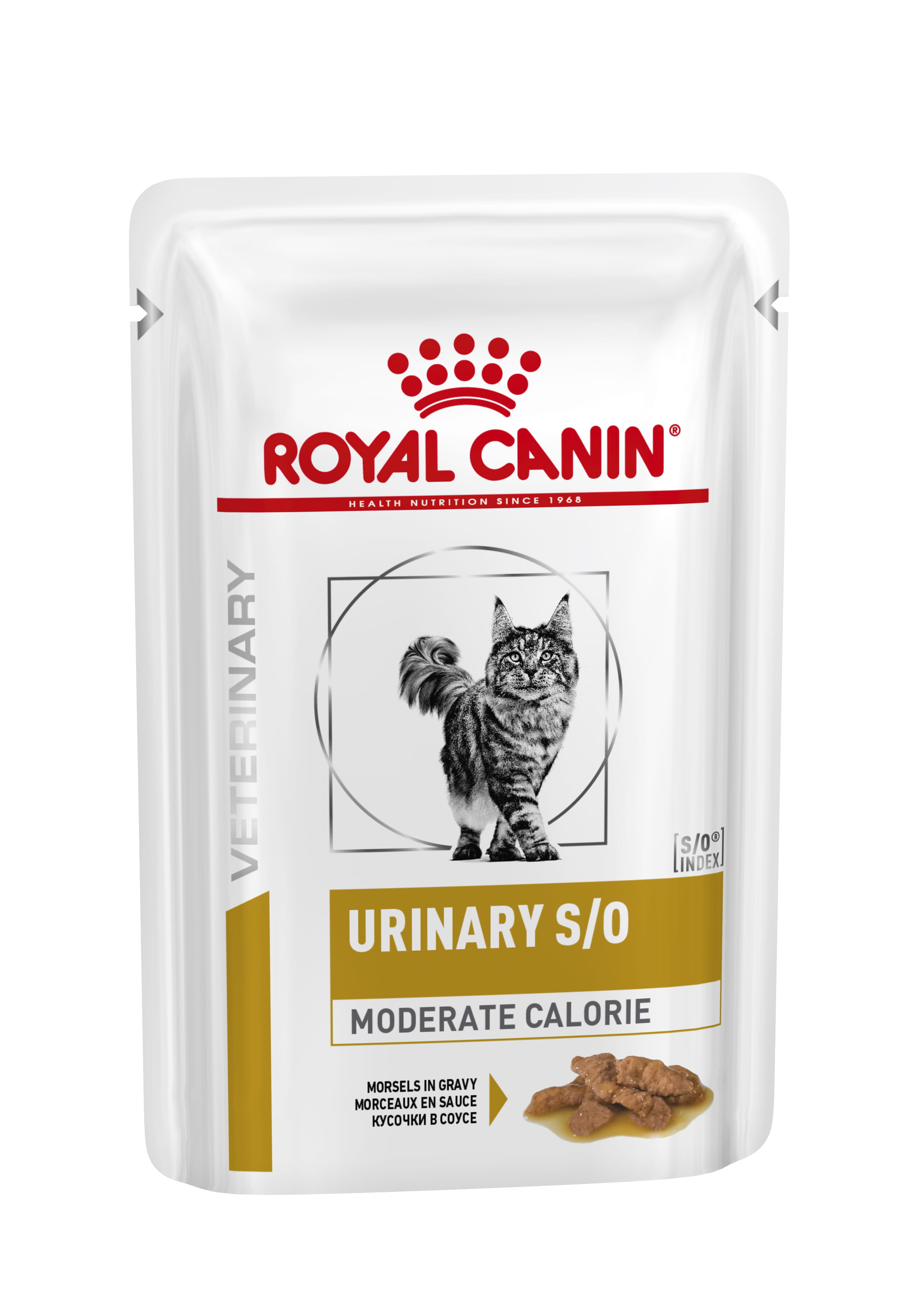 Feline Urinary S/O Moderate Calorie Morsels in Gravy