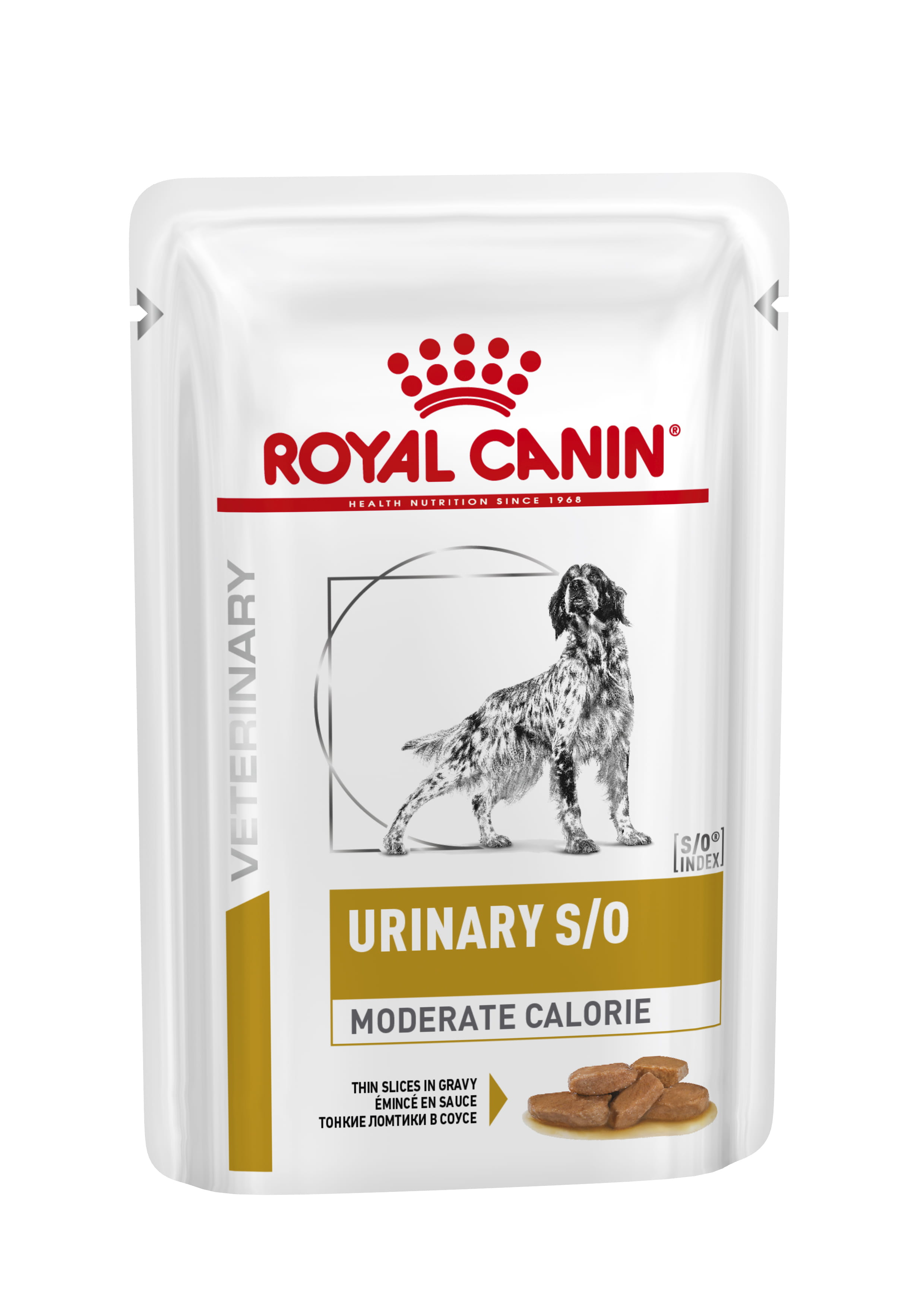 Canine Urinary S/O Moderate Calorie Thin Slices in Gravy