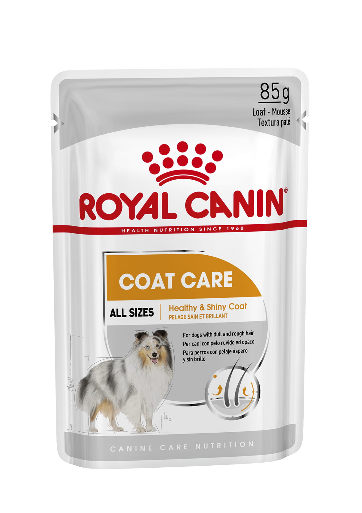 Coat Care Wet Pouches