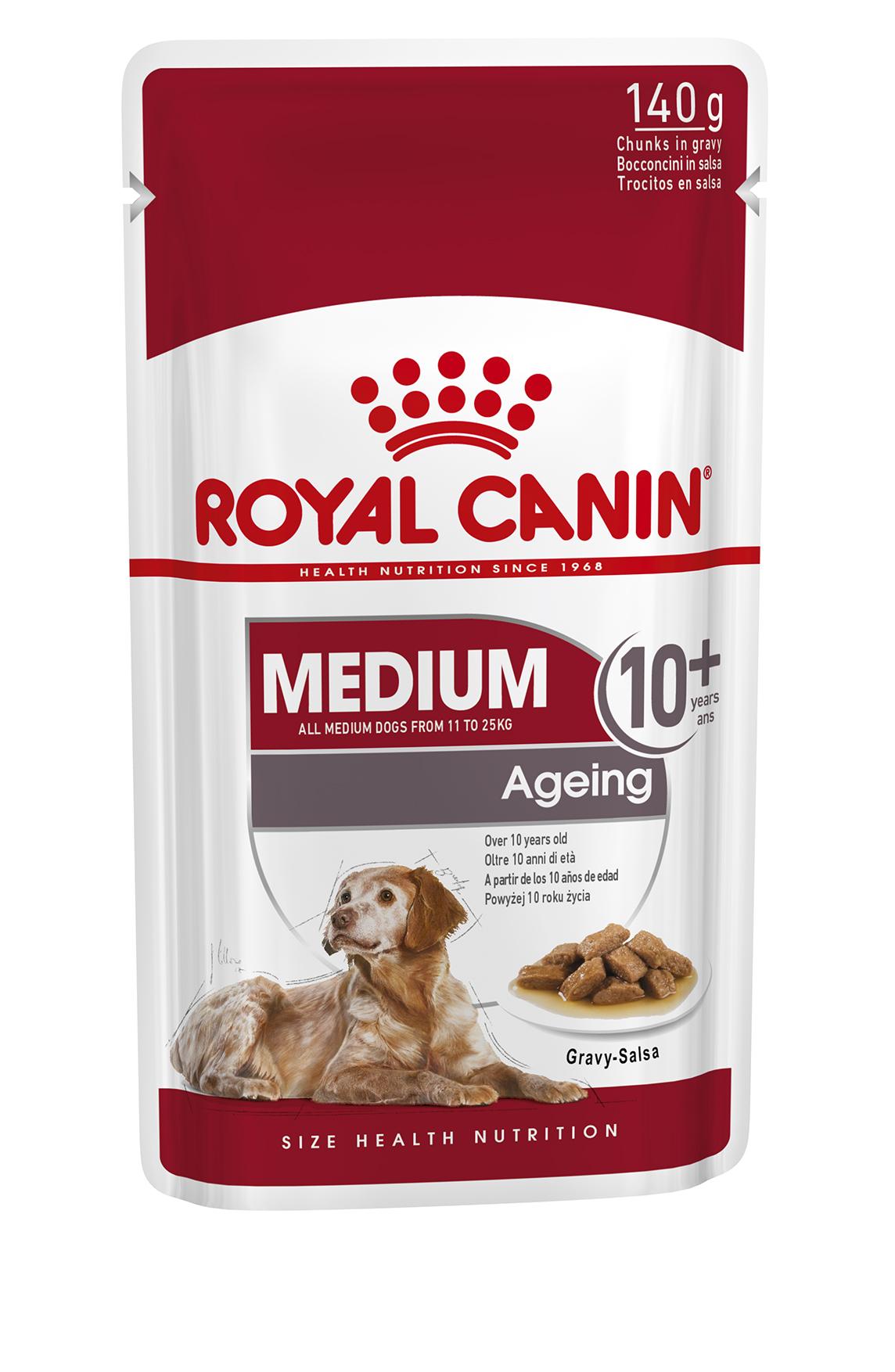 Medium Ageing 10+ (in gravy)