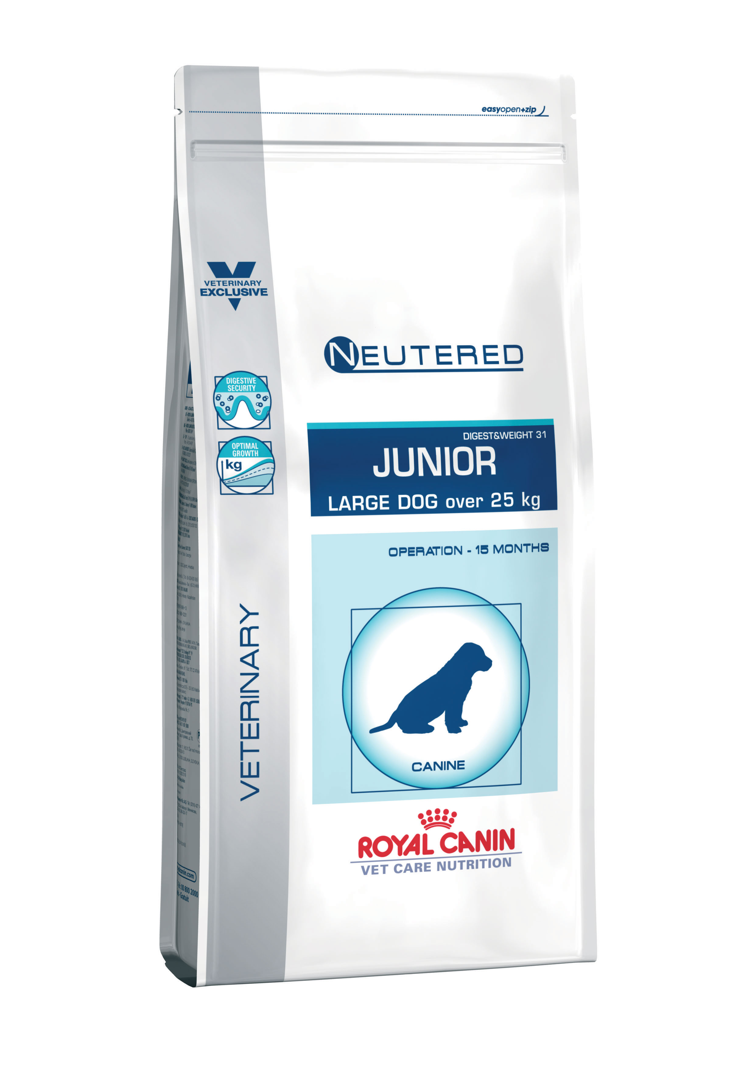 Neutered junior large dog