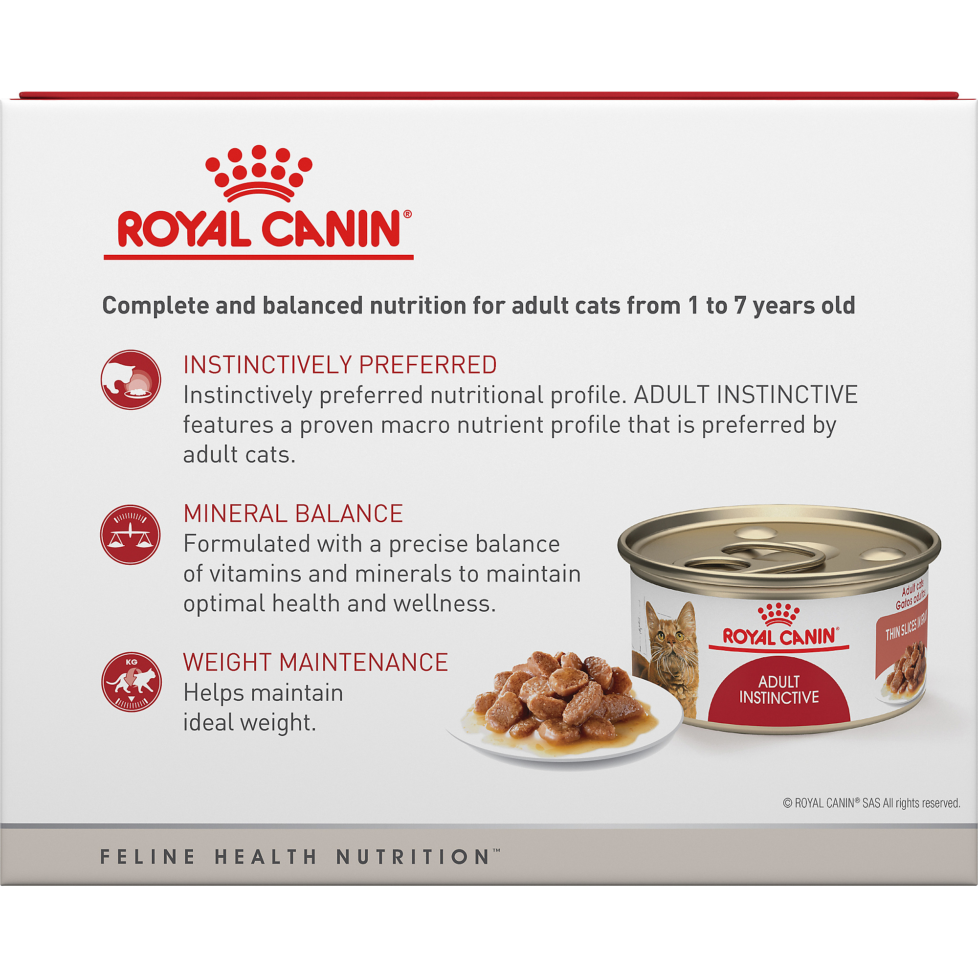 Adult Instinctive Thin Slices in Gravy Canned Cat Food