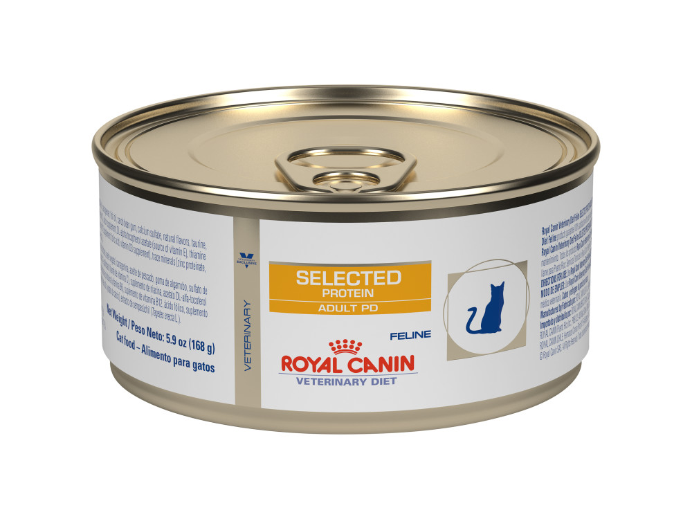 Feline Selected Protein Adult PD in Gel Canned Cat Food