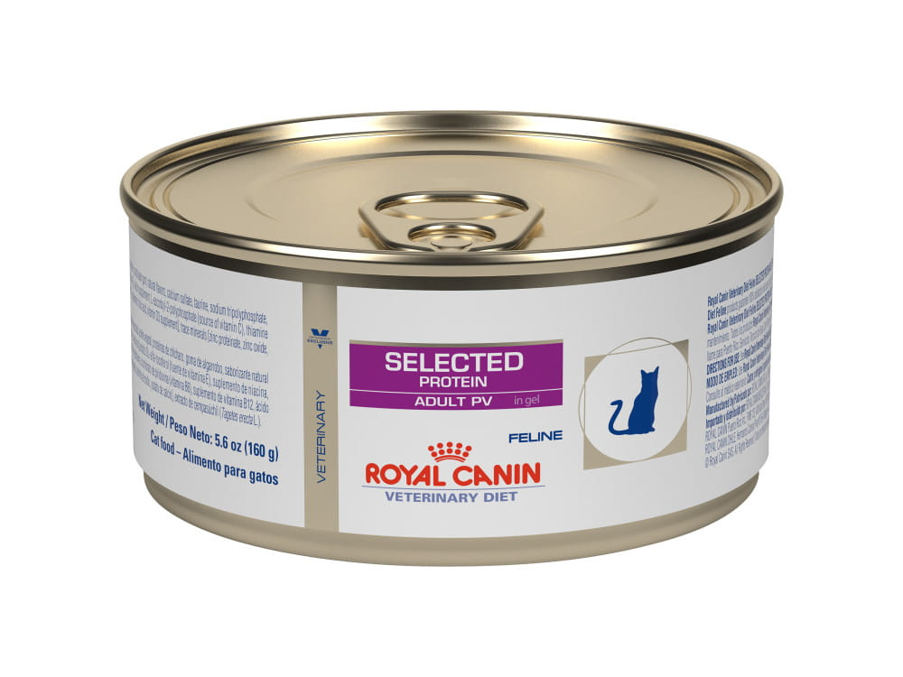 Feline Selected Protein Adult PV in Gel Canned Cat Food