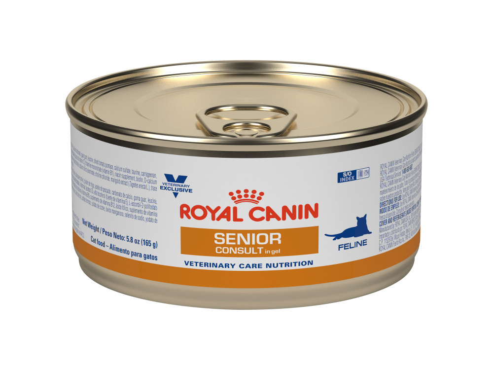 Royal Canin Veterinary Care Nutrition Feline Senior Consult Canned Cat Food