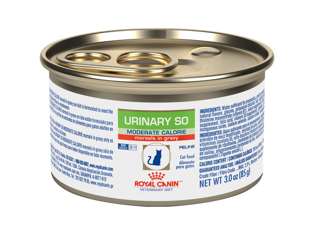 Royal Canin Veterinary Diet Feline Urinary SO Moderate Calorie Canned Cat Food