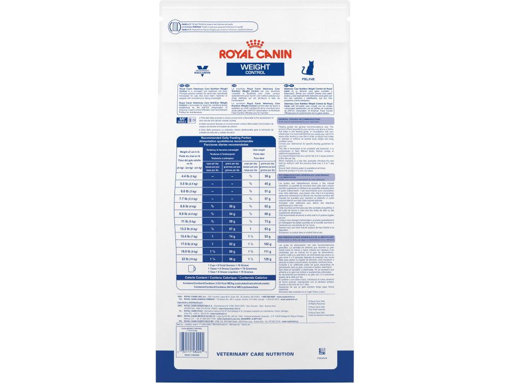 Royal Canin Veterinary Care Nutrition Feline Weight Control Dry Cat Food