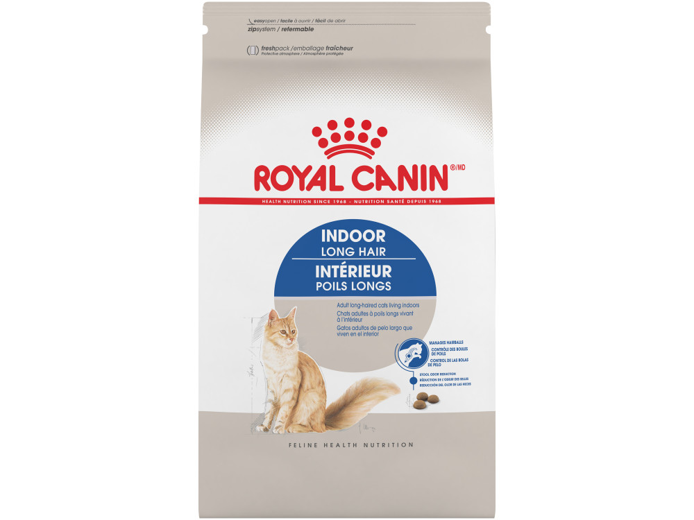 Royal Canin Feline Health Nutrition Indoor Long Hair Dry Cat Food