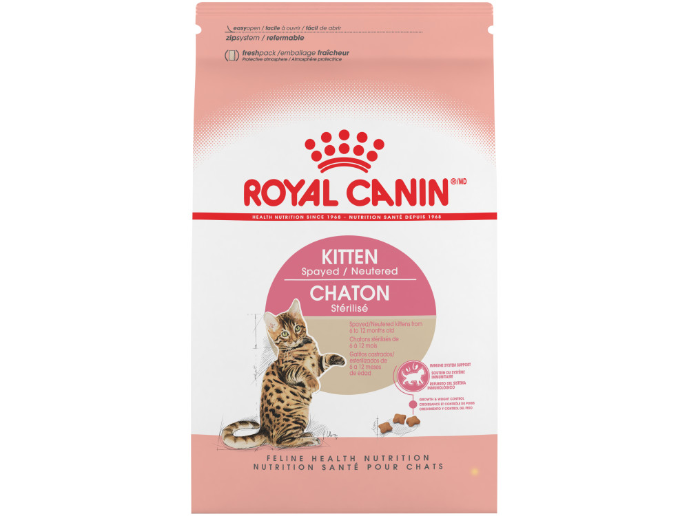 Royal Canin Feline Health Nutrition Kitten Spayed / Neutered Dry Cat Food
