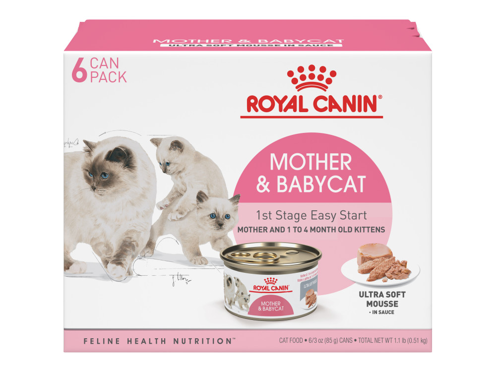 Mother And Babycat Ultra Soft Mousse In Sauce Canned Cat