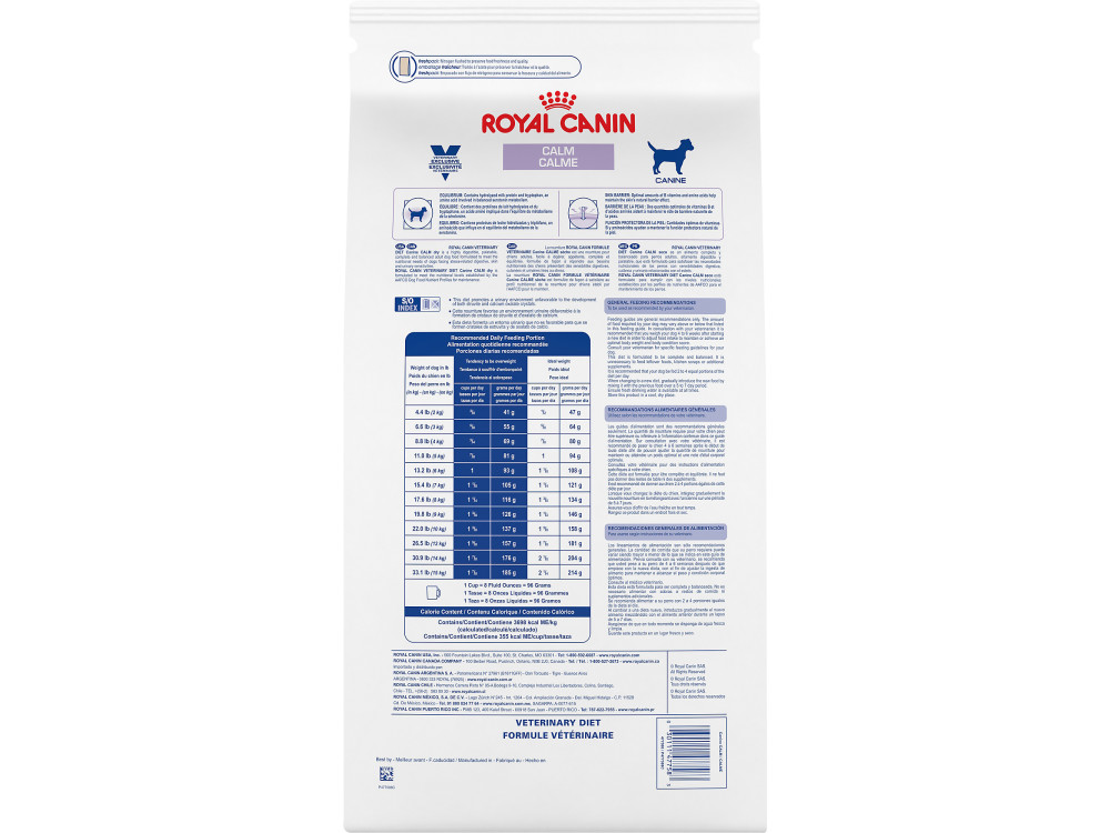 Royal Canin Veterinary Diet Canine Calm Dry Dog Food