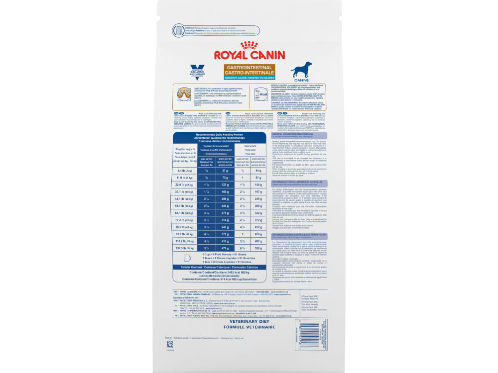 Gastrointestinal Moderate Calorie™ Dry Dog Food