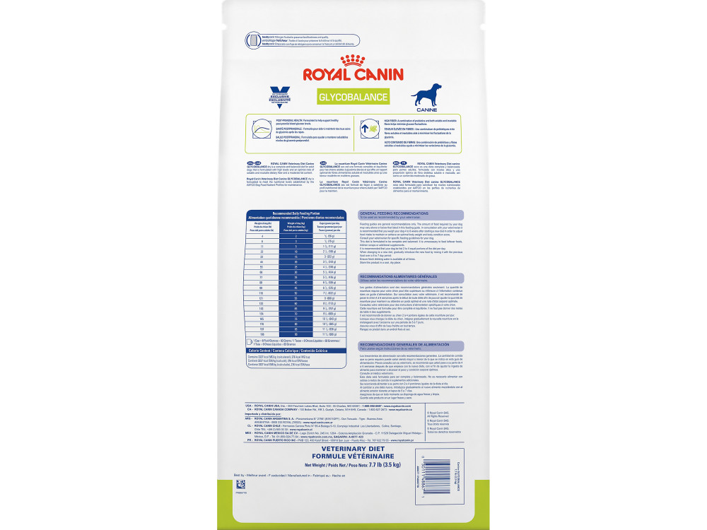 Royal Canin Veterinary Diet Canine Glycobalance Dry Dog Food