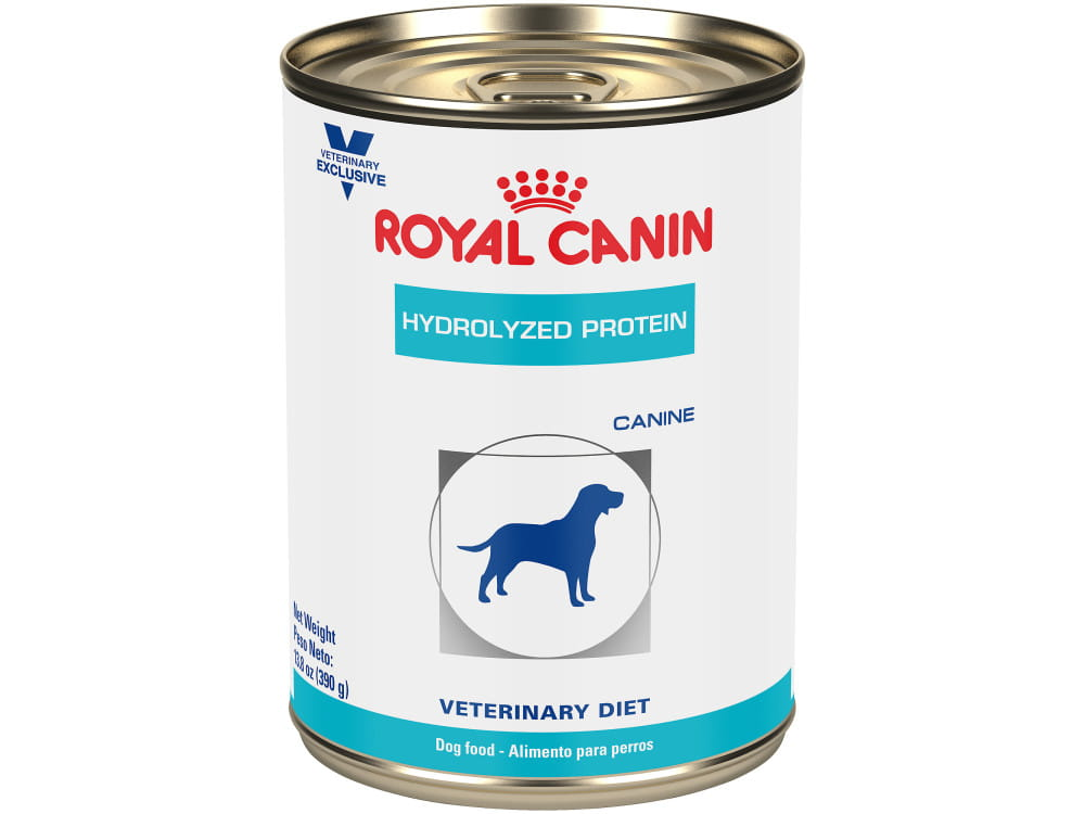 Canine Hydrolyzed Protein in Gel Canned Dog Food
