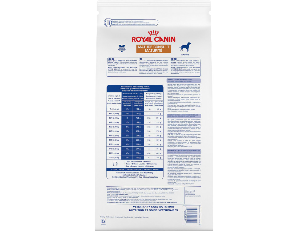 Royal Canin Veterinary Care Nutrition Canine Mature Consult Dry Dog Food