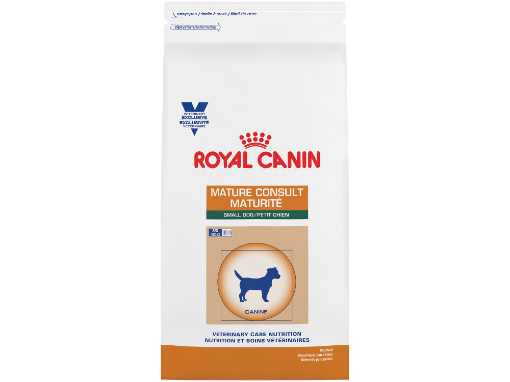 Royal Canin Veterinary Care Nutrition Canine Mature Consult Small Dog Dry Dog Food