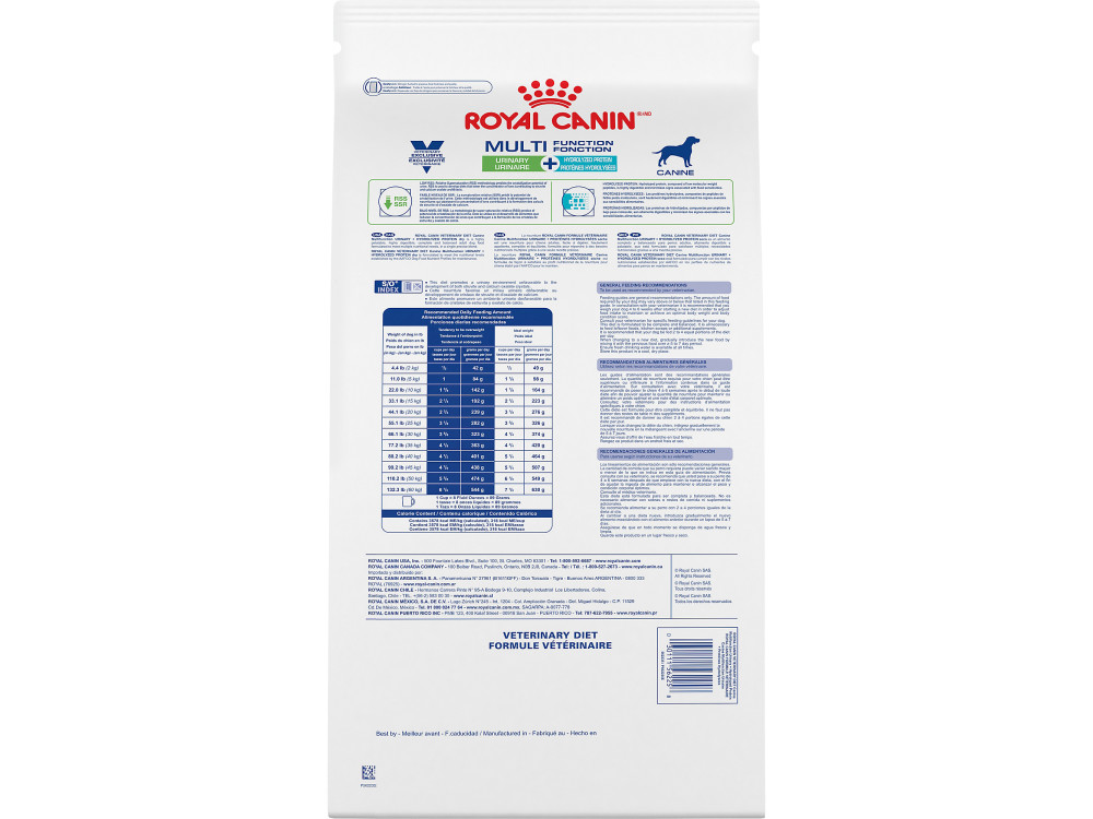 Royal Canin Veterinary Diet Canine Multifunction Urinary + Hydrolyzed Protein Dry Dog Food