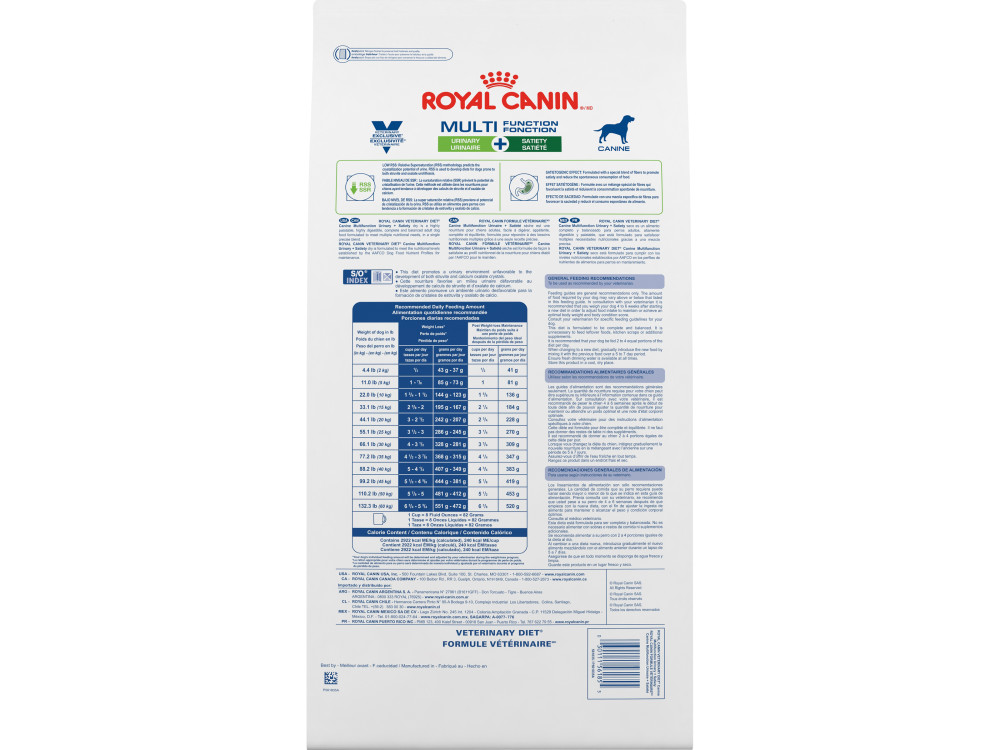Royal Canin Veterinary Diet Canine Multifunction Urinary + Satiety Dry Dog Food