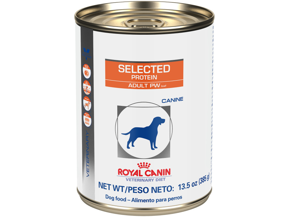 Royal Canin Veterinary Diet Canine Selected Protein Adult PW Loaf Canned Dog Food