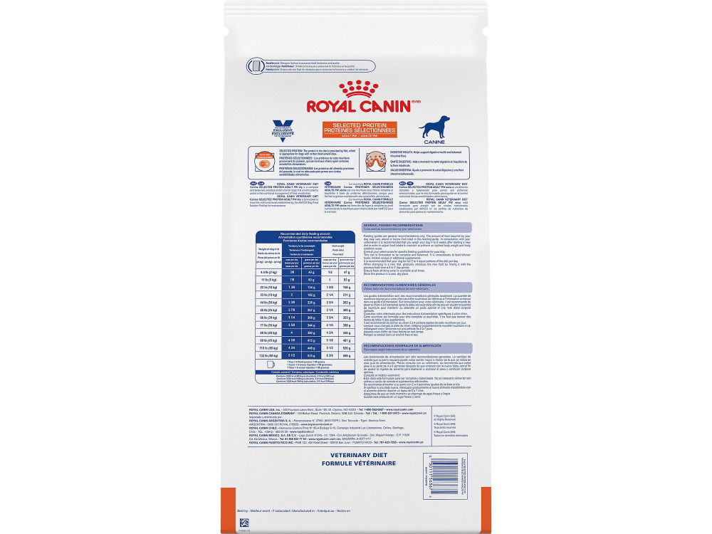 Royal Canin Veterinary Diet Canine Selected Protein Adult PW Dry Dog Food