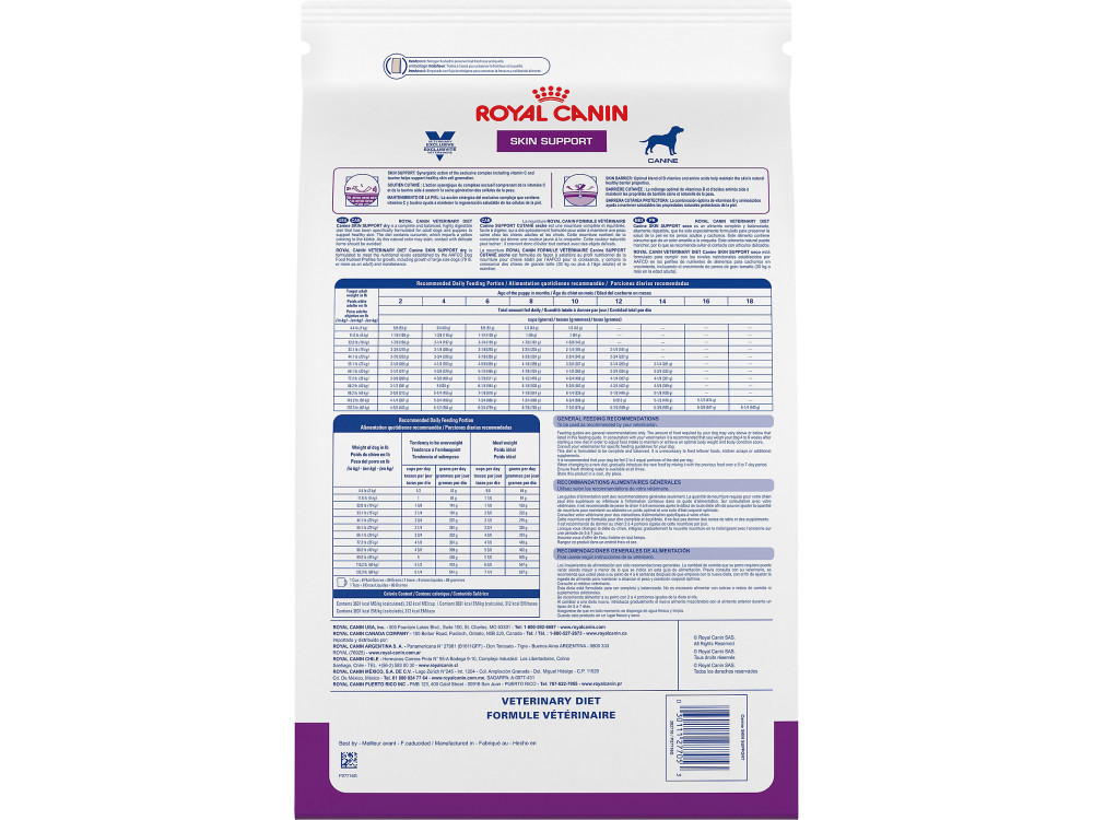 Royal Canin Veterinary Diet Canine Skin Support SS Dry Dog Food